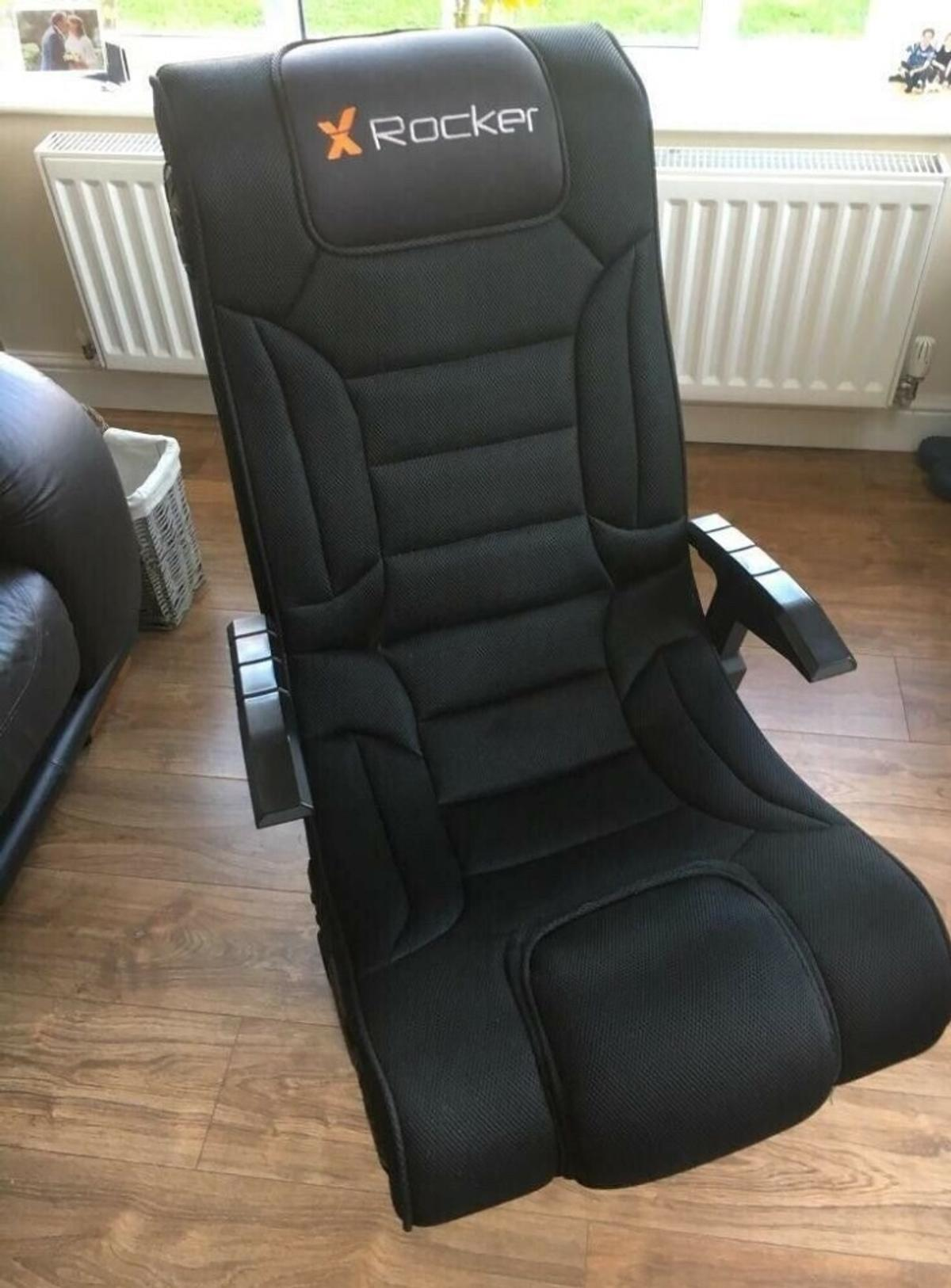 X Rocker Hades Surround Sound Gaming Chair