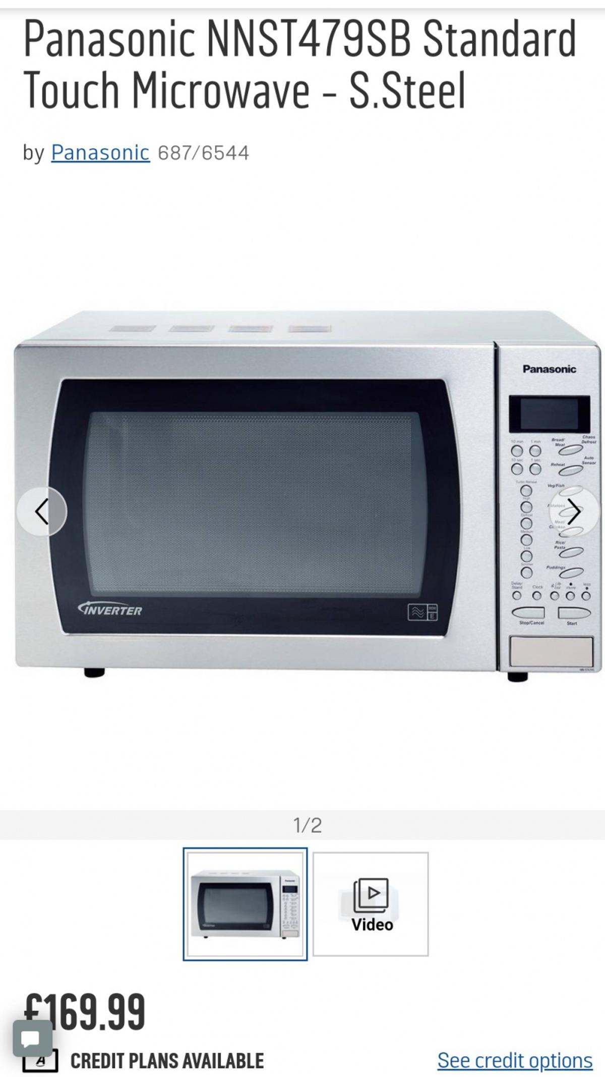 Microwave Oven And Grill In Rm9