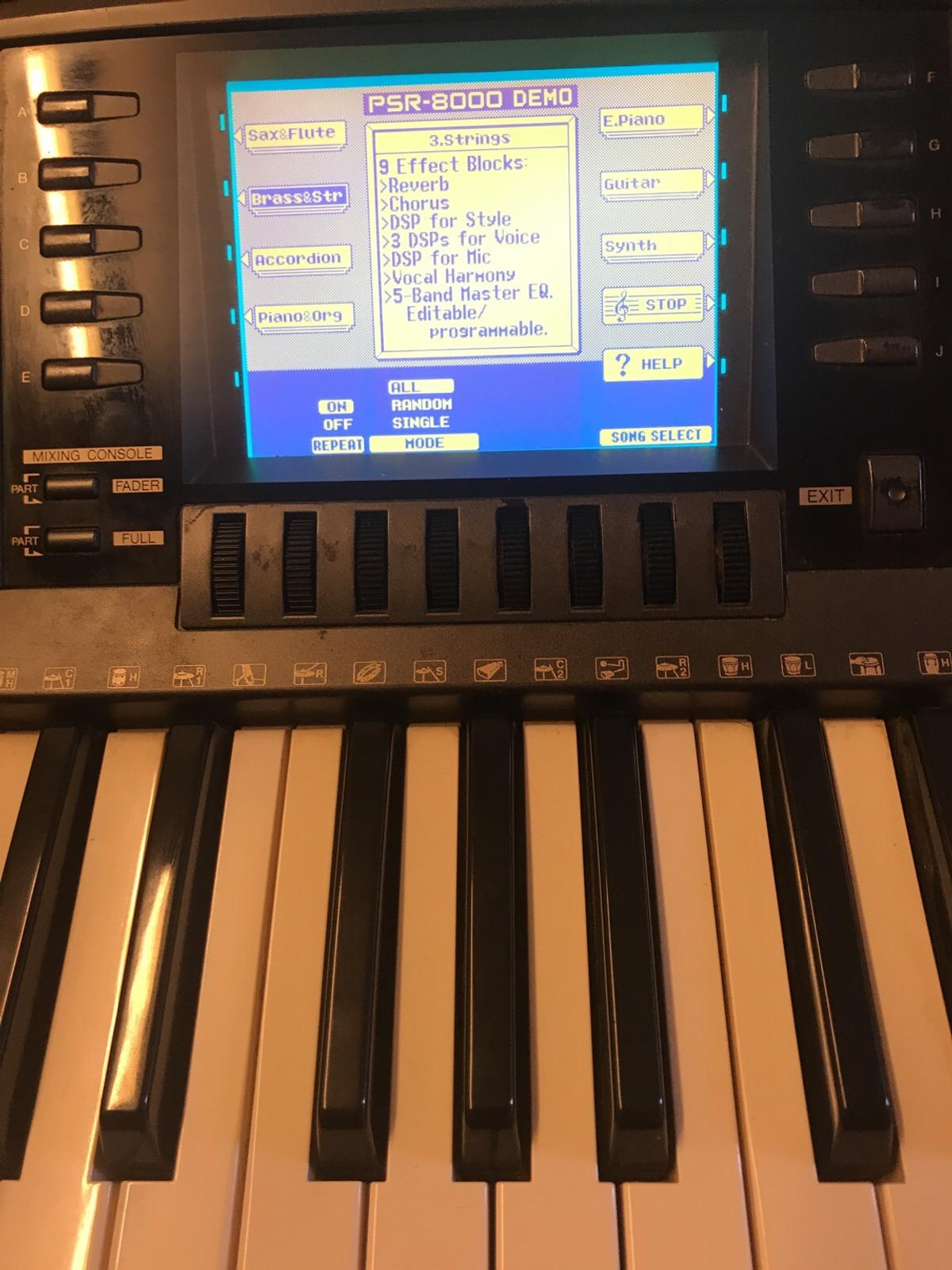 YAMAHA PSR - 8000 keyboard in Newfield for £180 00 for sale - Shpock