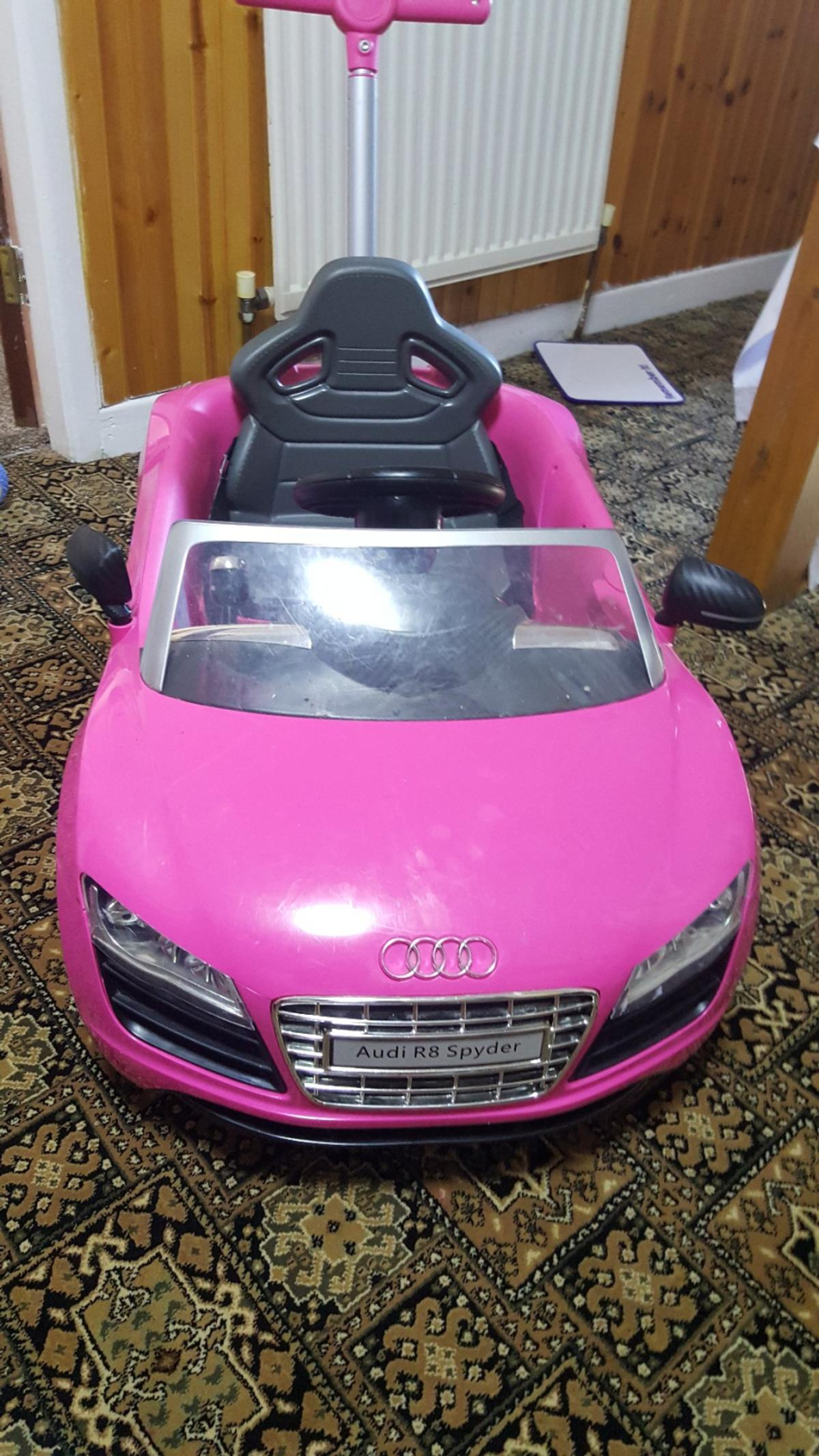 Girls Pink Audi R8 Spyder Push Chair Rrp 100 In Bd9 Bradford For 50 00 For Sale Shpock