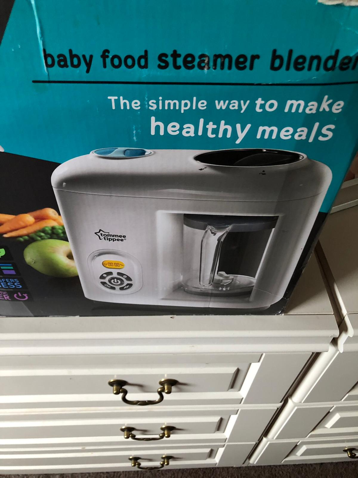 Baby Food Steamer Blender And Weaning Pots In Bolton For