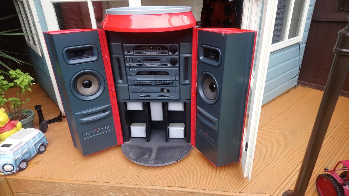 1970s RETRO COCA COLA MUSIC SYSTEM In FY5 Wyre For £10.00 ...