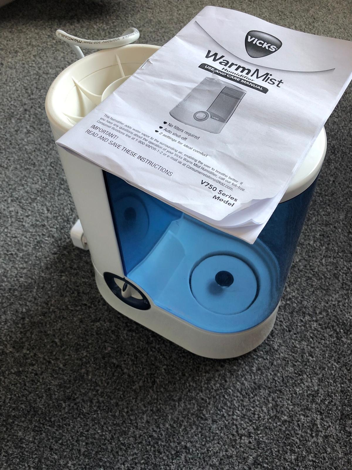 Vicks Humidifier in GL1 Gloucester for £10.00 for sale