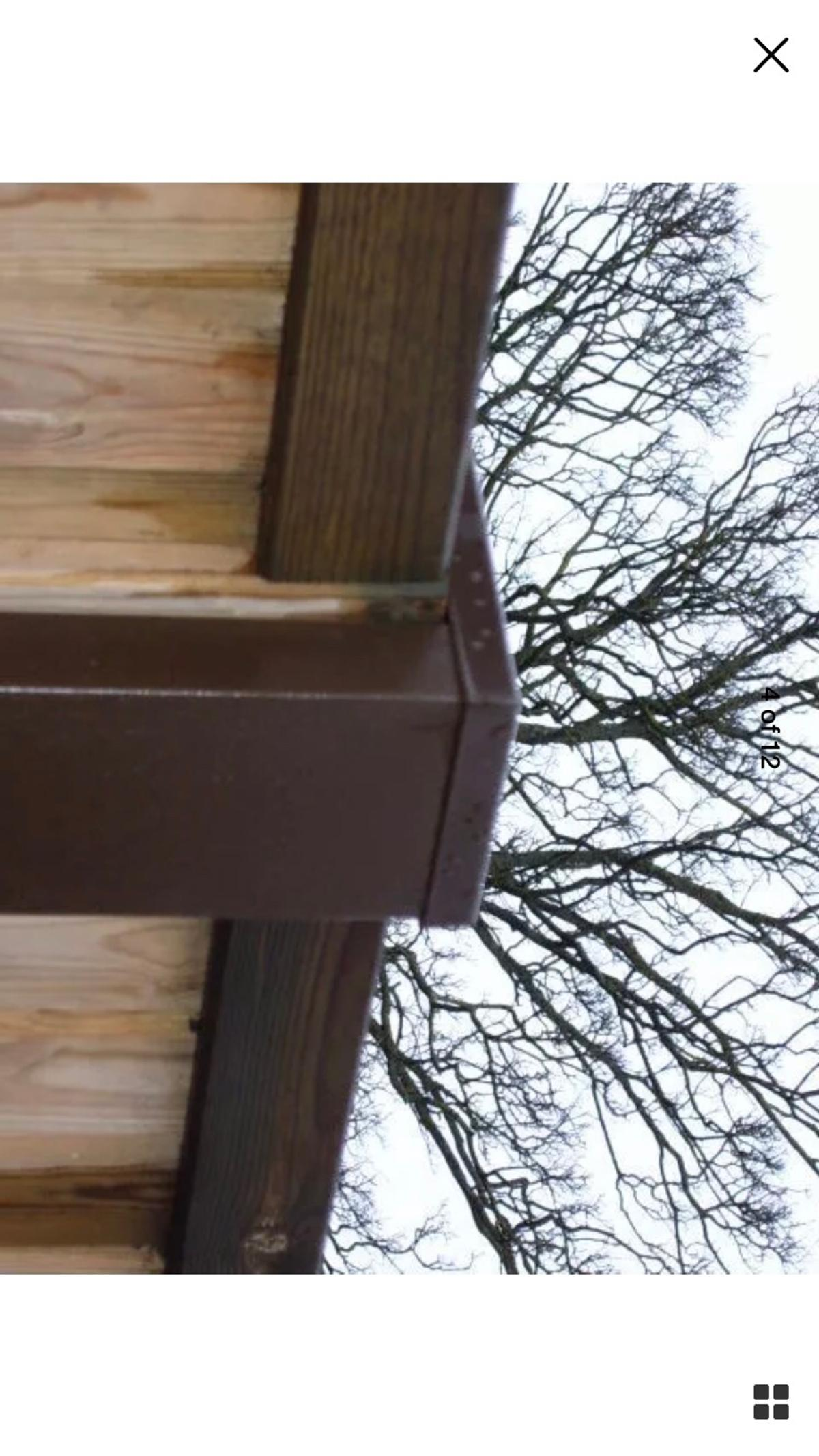 5x Metal Fence Post Cover/Extender in Leigh on Sea for £50 ...