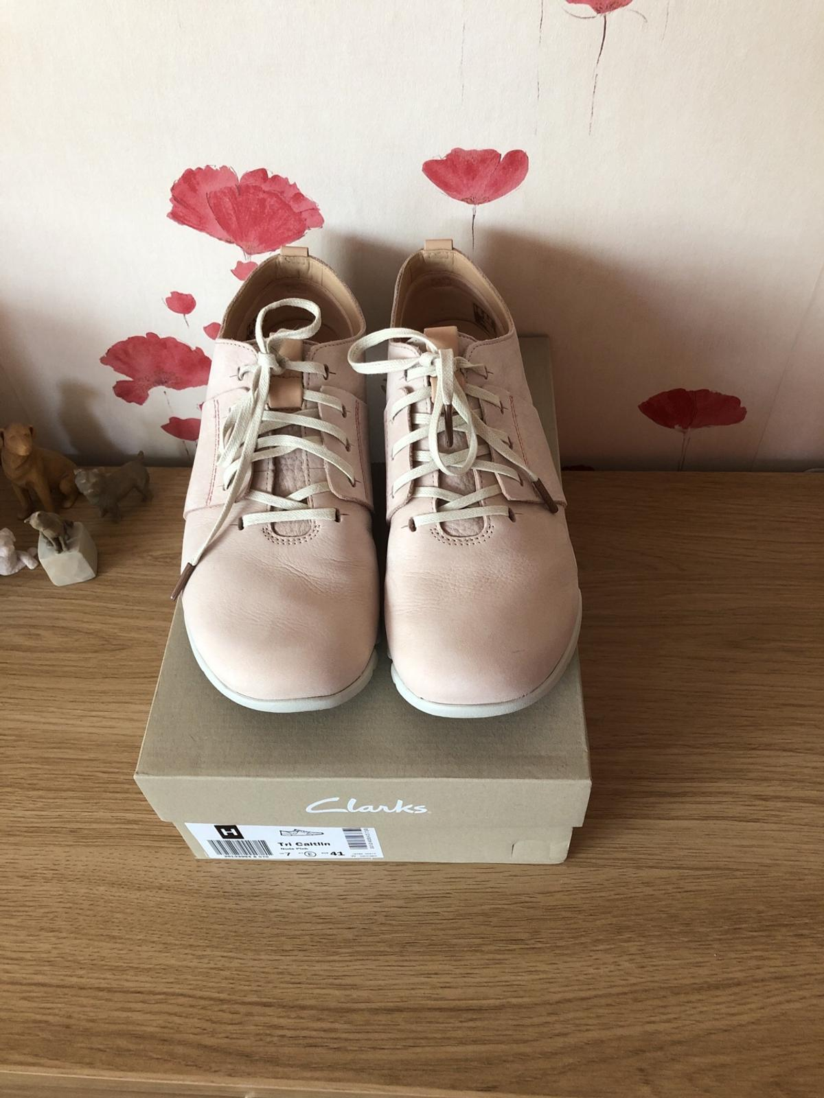 begrenzte garantie Angebot outlet Clarks Tri Caitlin nude pink leather in SE28 Greenwich for ...
