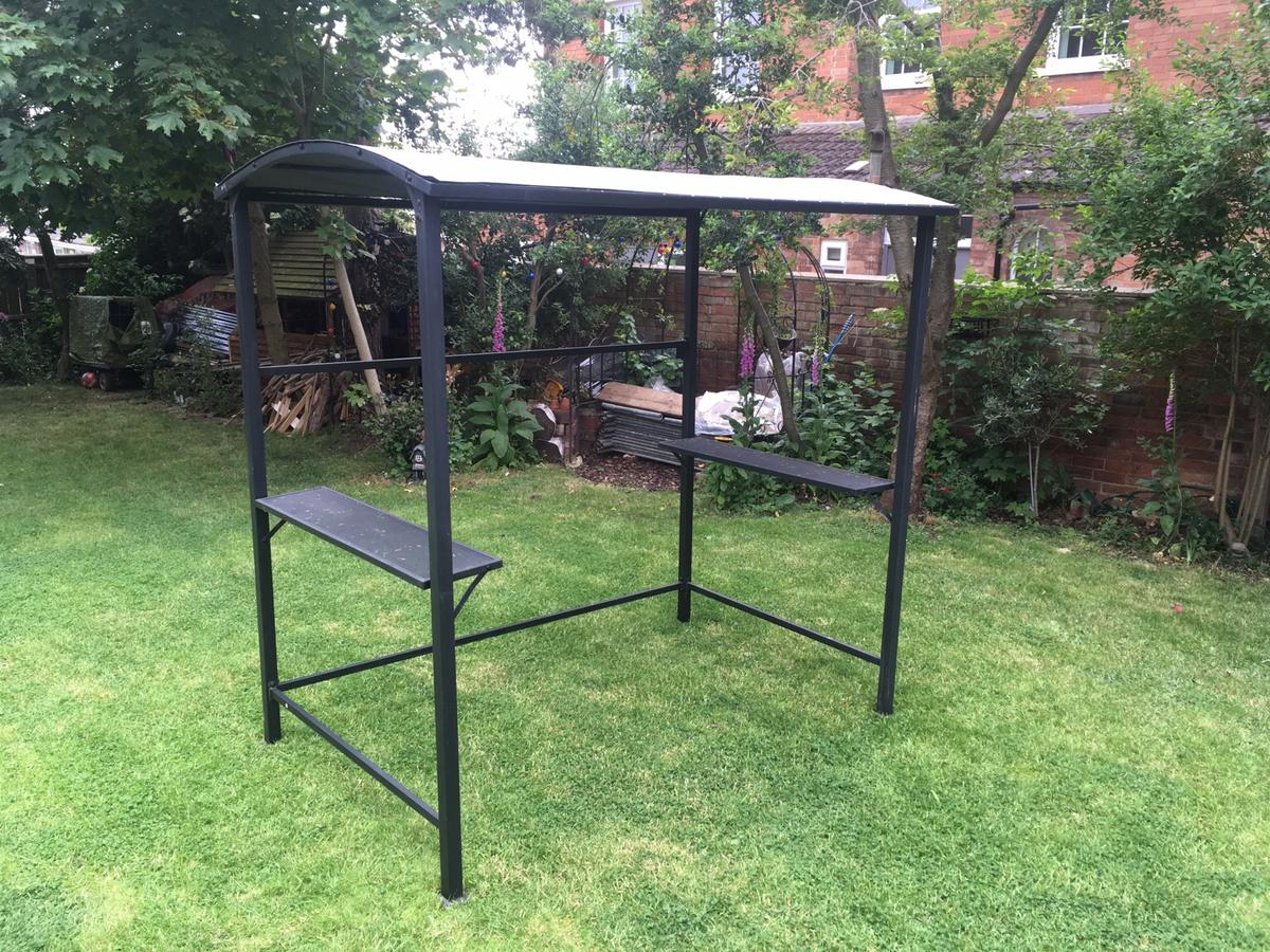 Blooma Coburg Grey Barbecue Gazebo In Le12 Charnwood For 45 00 For Sale Shpock