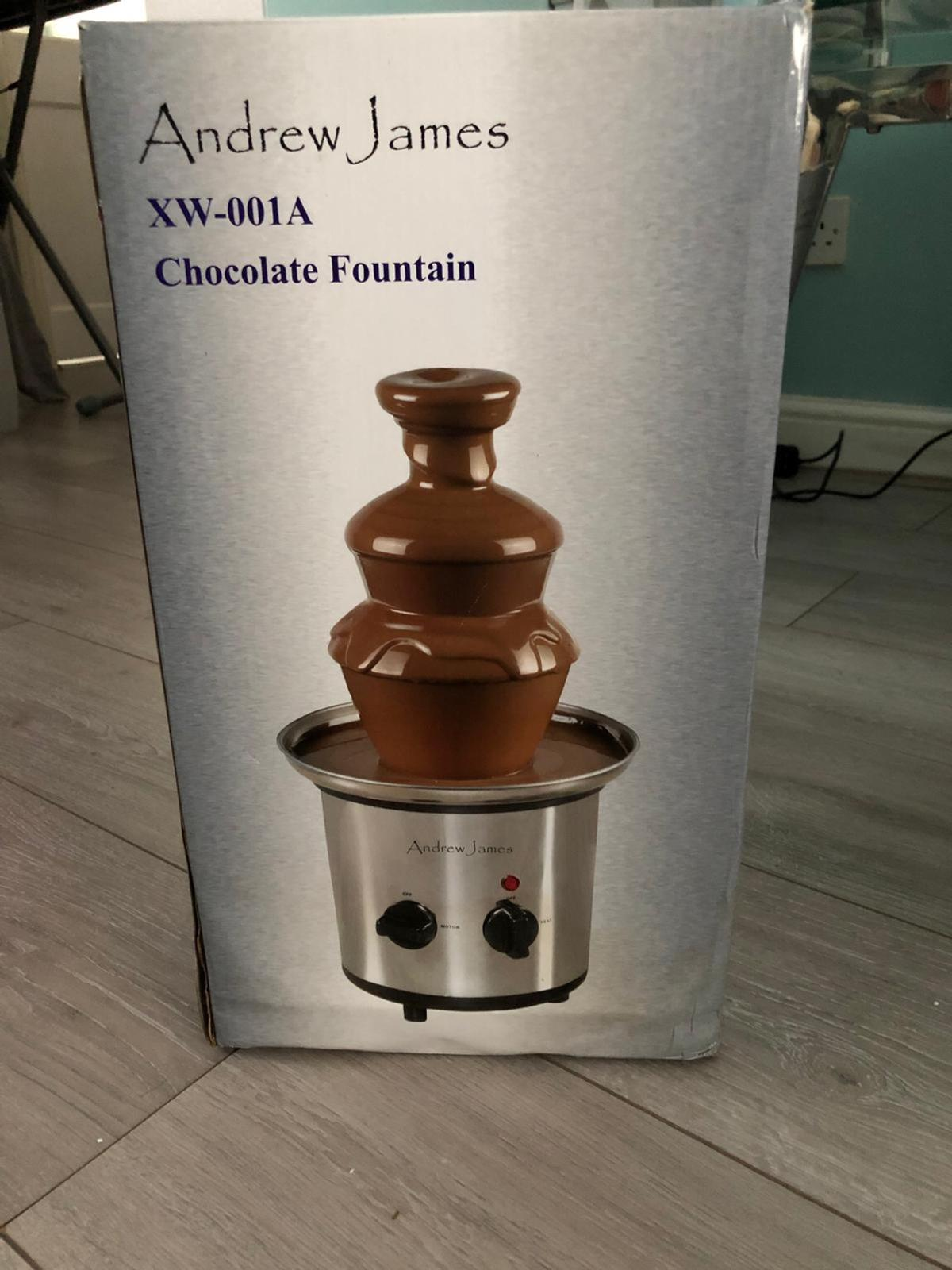 Andrew James Chocolate Fountain Never Used