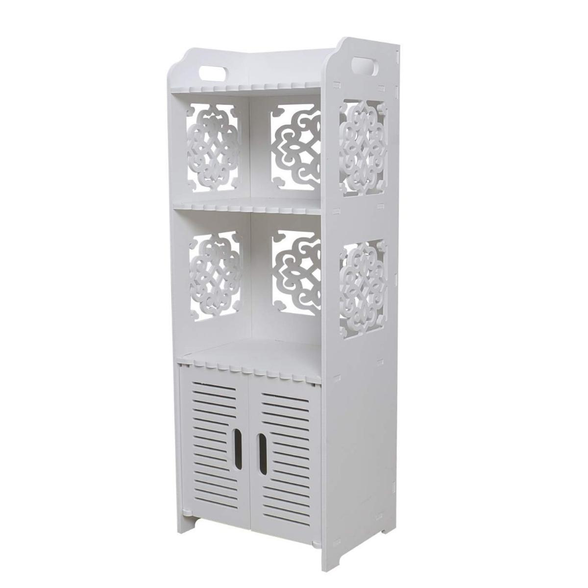 Awesome Bathroom Storage Cabinet Floor Standing Water In M7 Home Interior And Landscaping Oversignezvosmurscom