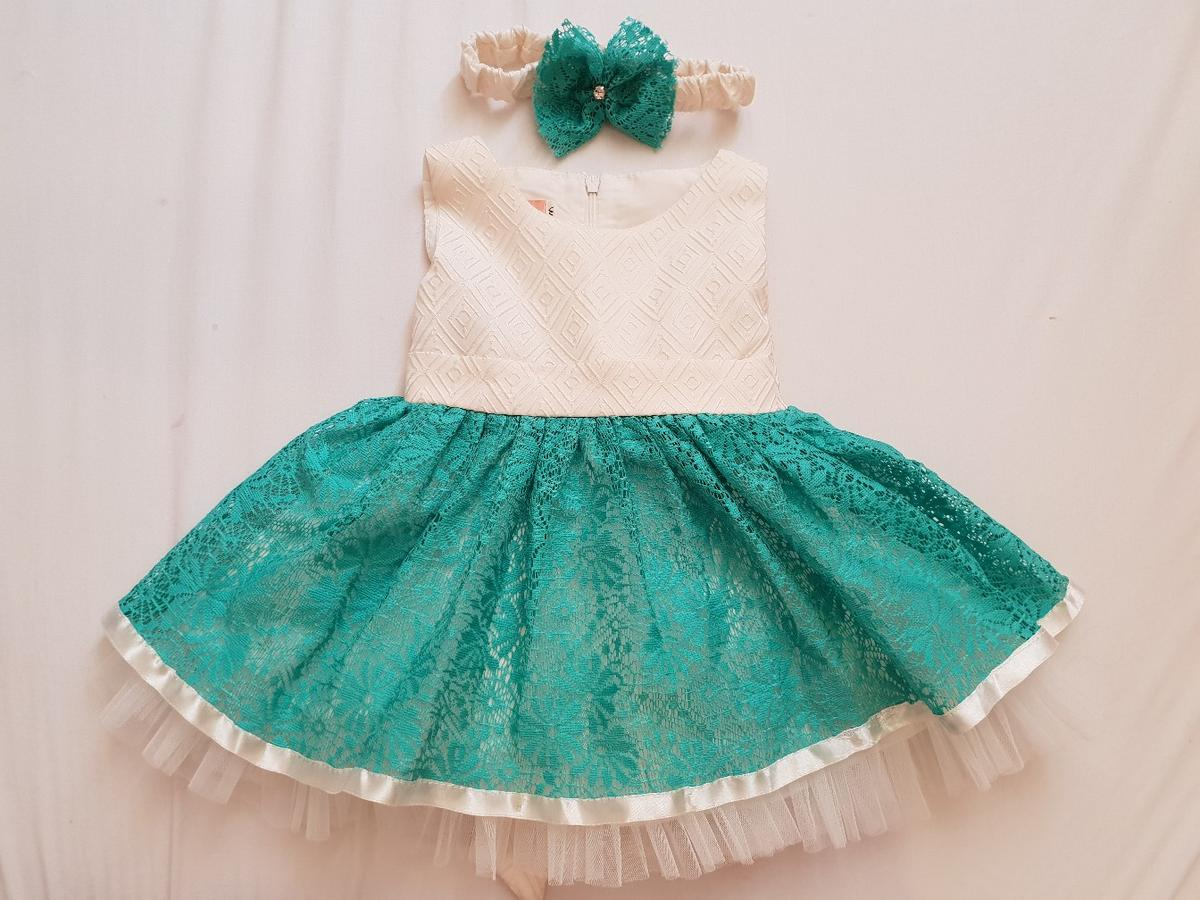 Baby girl turquoise dress outfit 5 - 5 months in W5 Ealing for