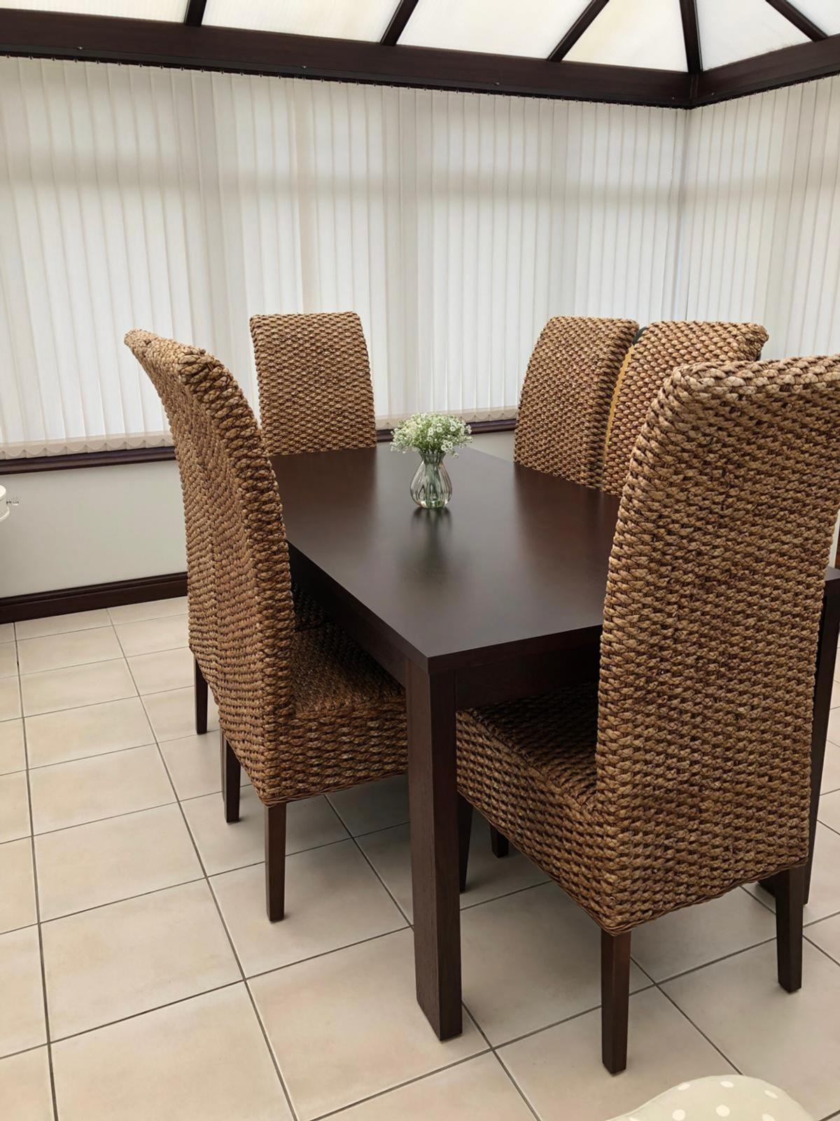 Prime Solid Wood Dining Table With 6 Chairs Onthecornerstone Fun Painted Chair Ideas Images Onthecornerstoneorg