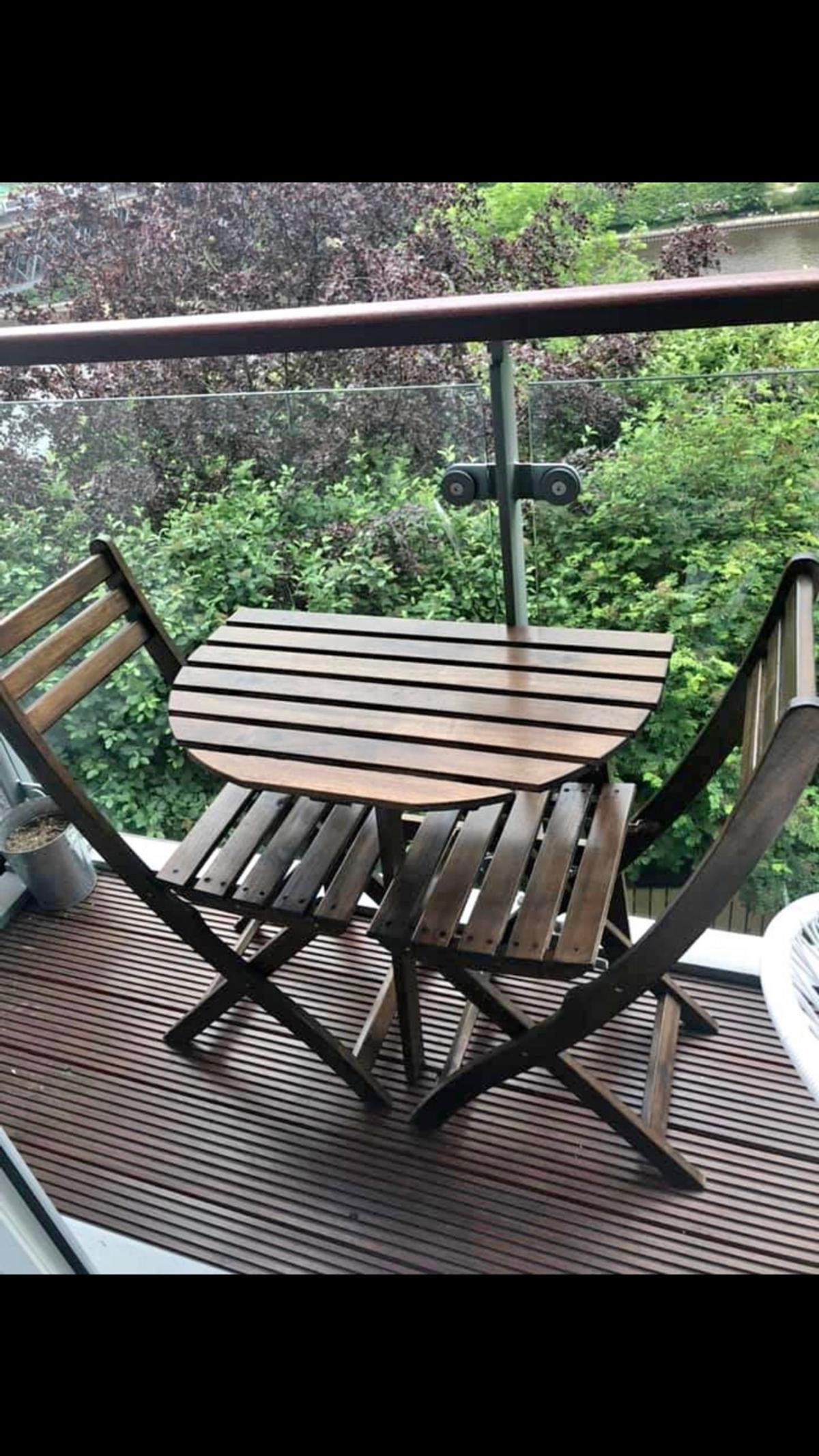 Ikea Balcony Garden Table And Chairs