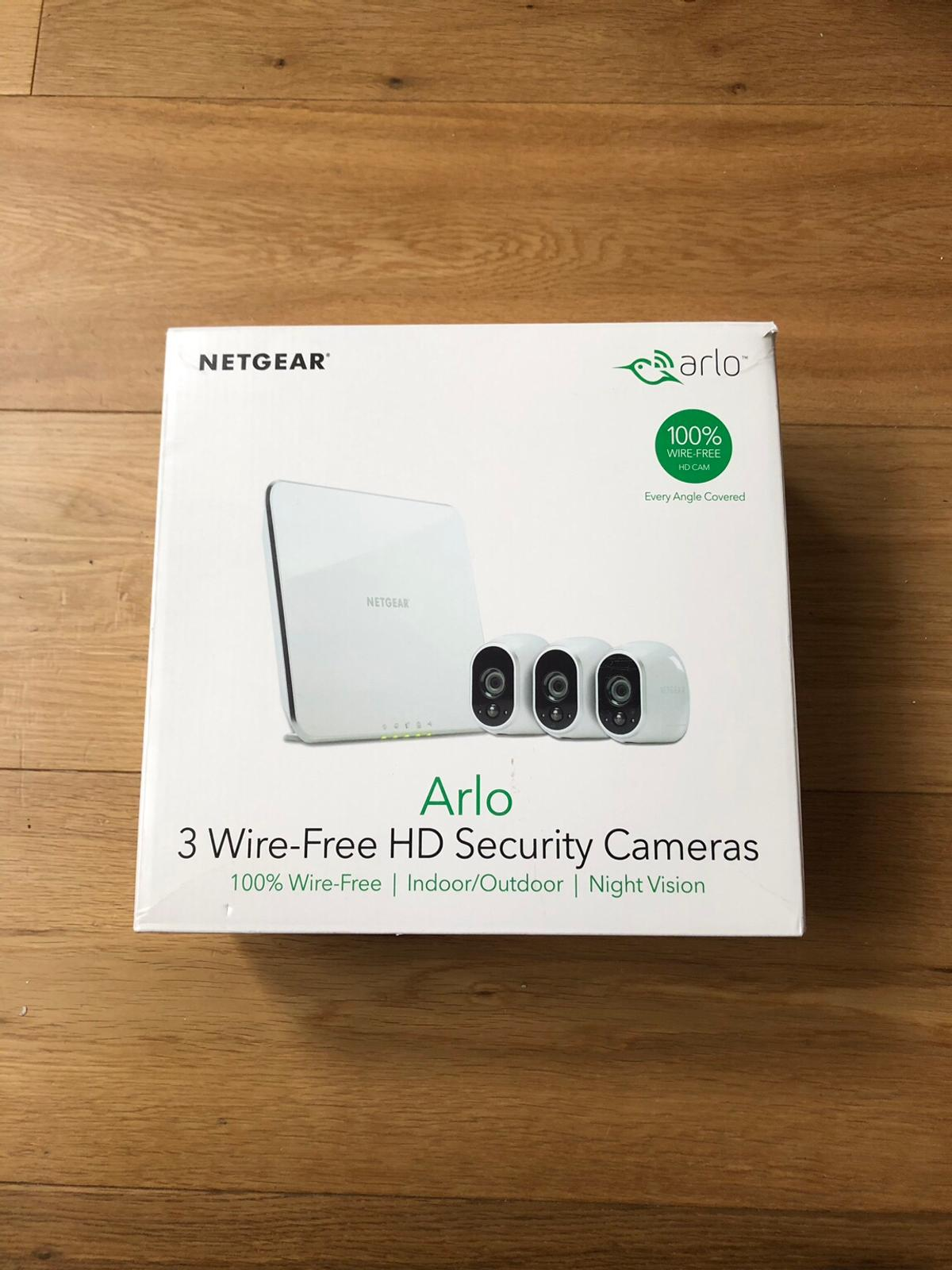 Arlo HD Wireless 3 Camera System