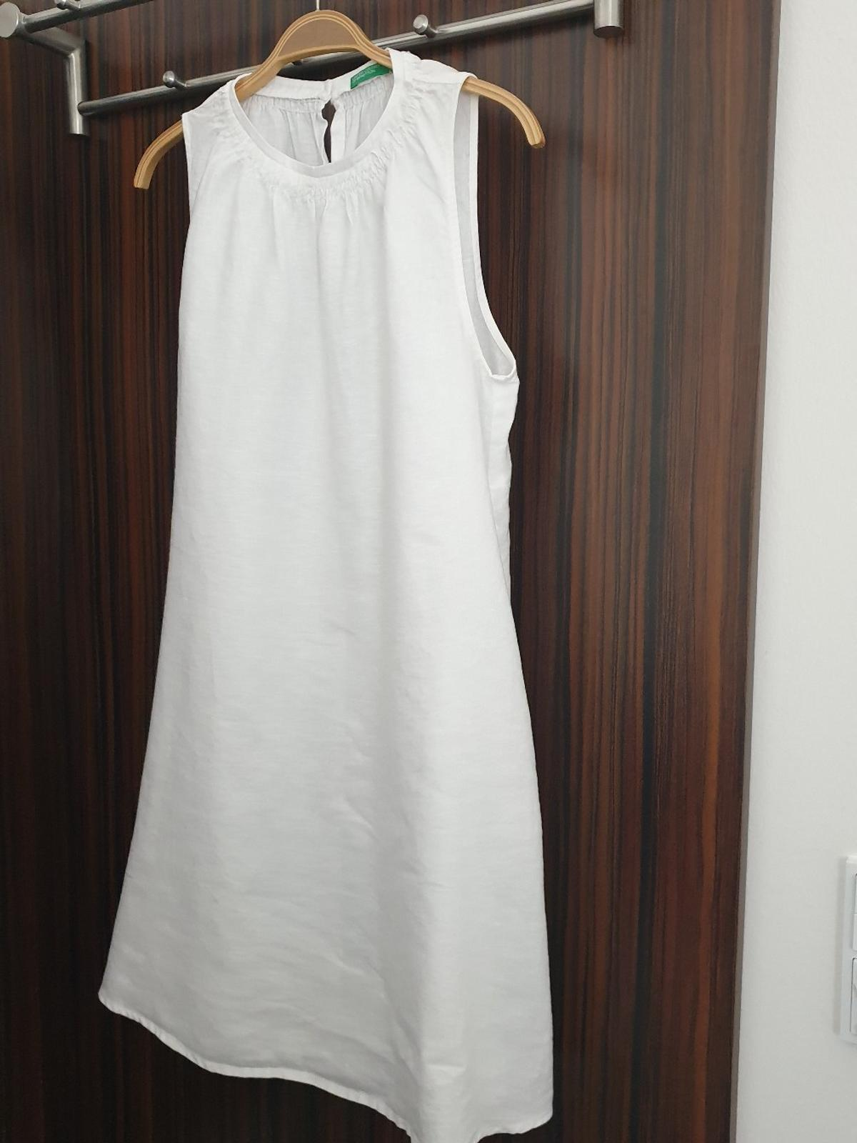 Weisses Leinenkleid in 9 Amlach for €9.9 for sale   Shpock
