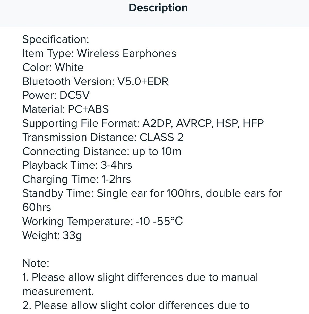 Apple compatible wireless AirPods in E15 Newham for £35 00