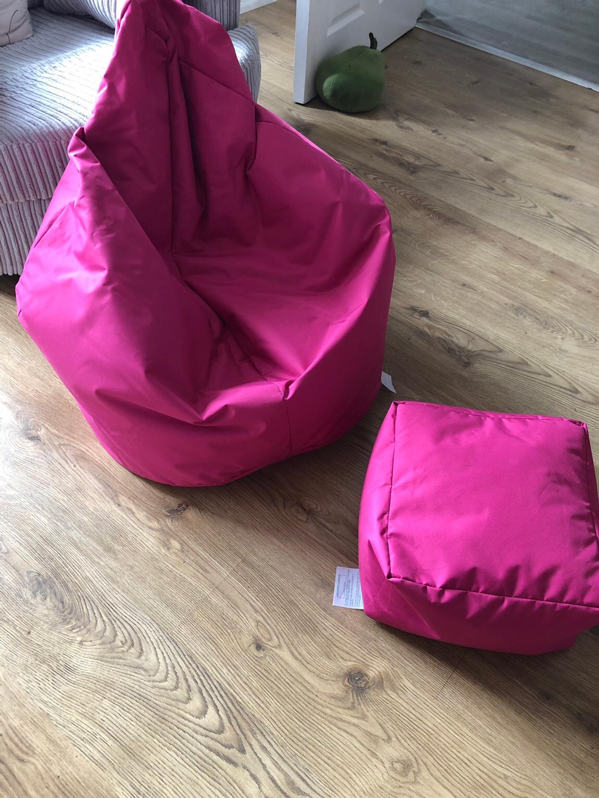 Collections Of Large Bean Bag Gaming Chair With Foot Rest