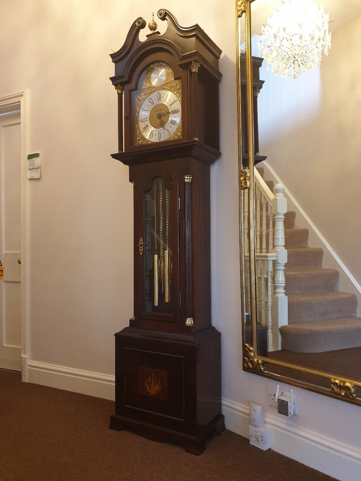 grandfather clock in LE11 Charnwood for £450 00 for sale