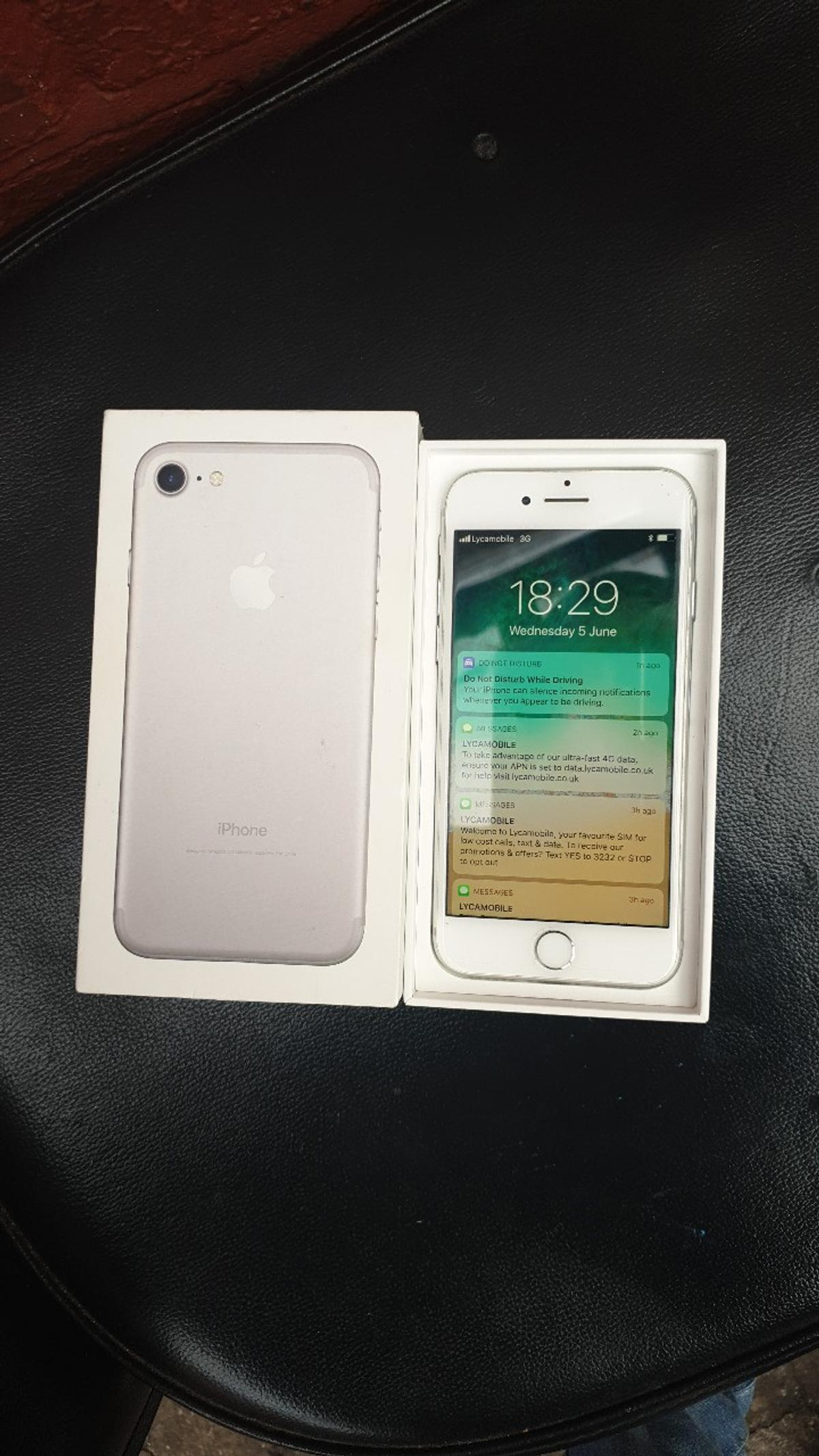 selling iPhone 7 32 GB unlocked in CV2 Coventry for £150 00