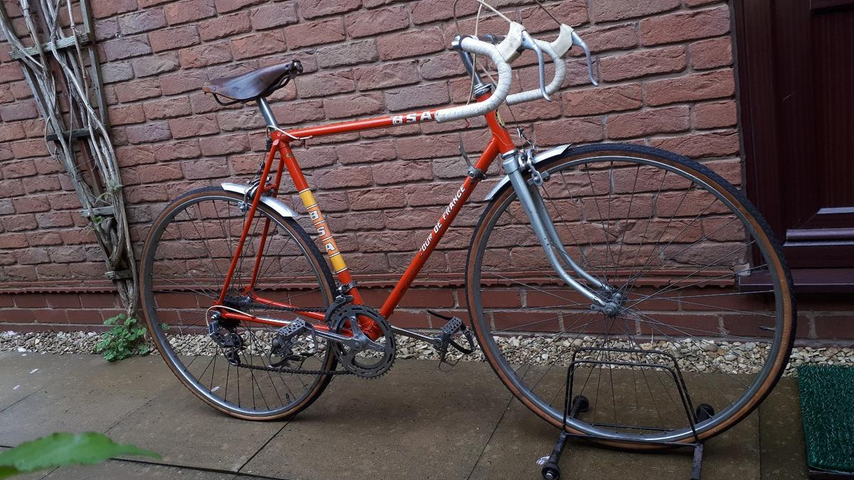 Raleigh Bsa Tour De France Vintage Bike In Dy6 Dudley For 49 00 For Sale Shpock