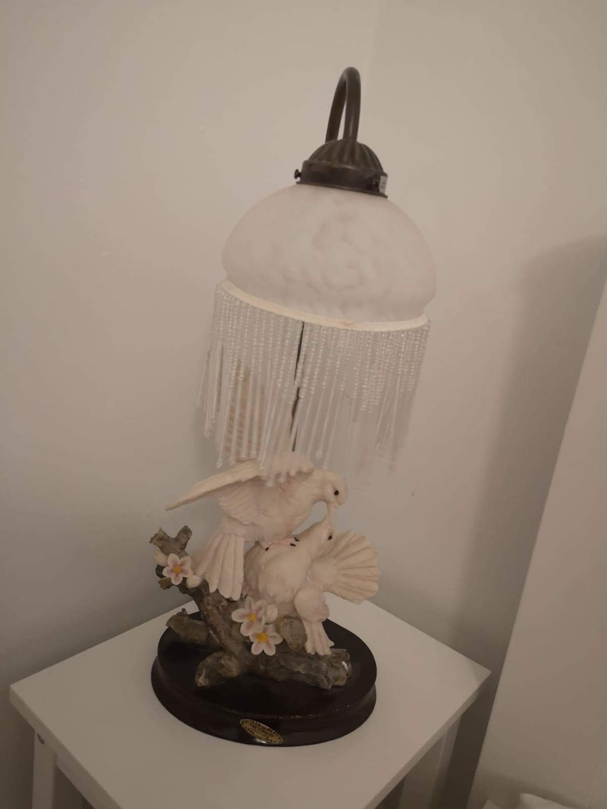 Vintage Bedside Lamp in E8 London for