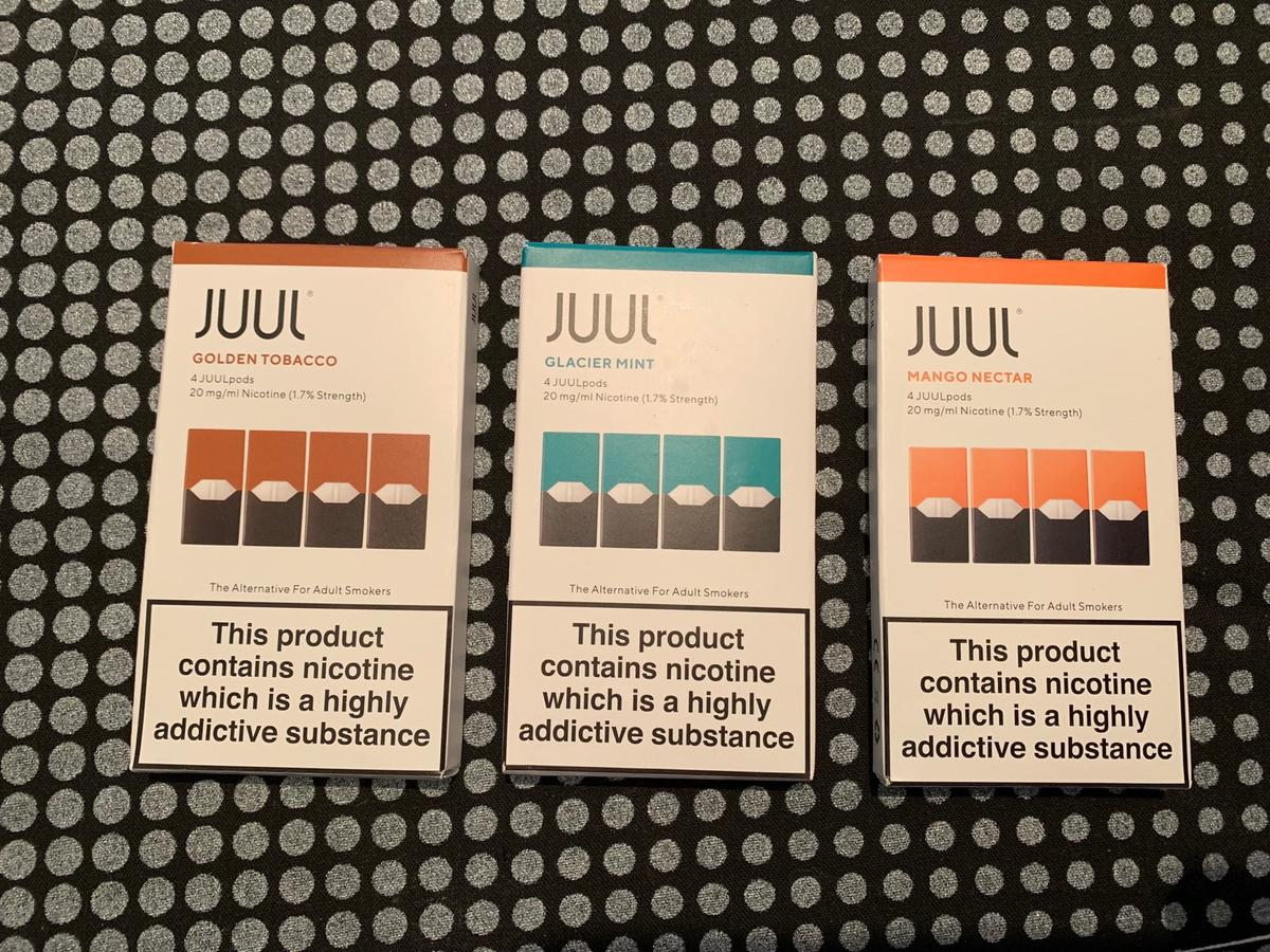Juul Vape Pods pack of 4 x3