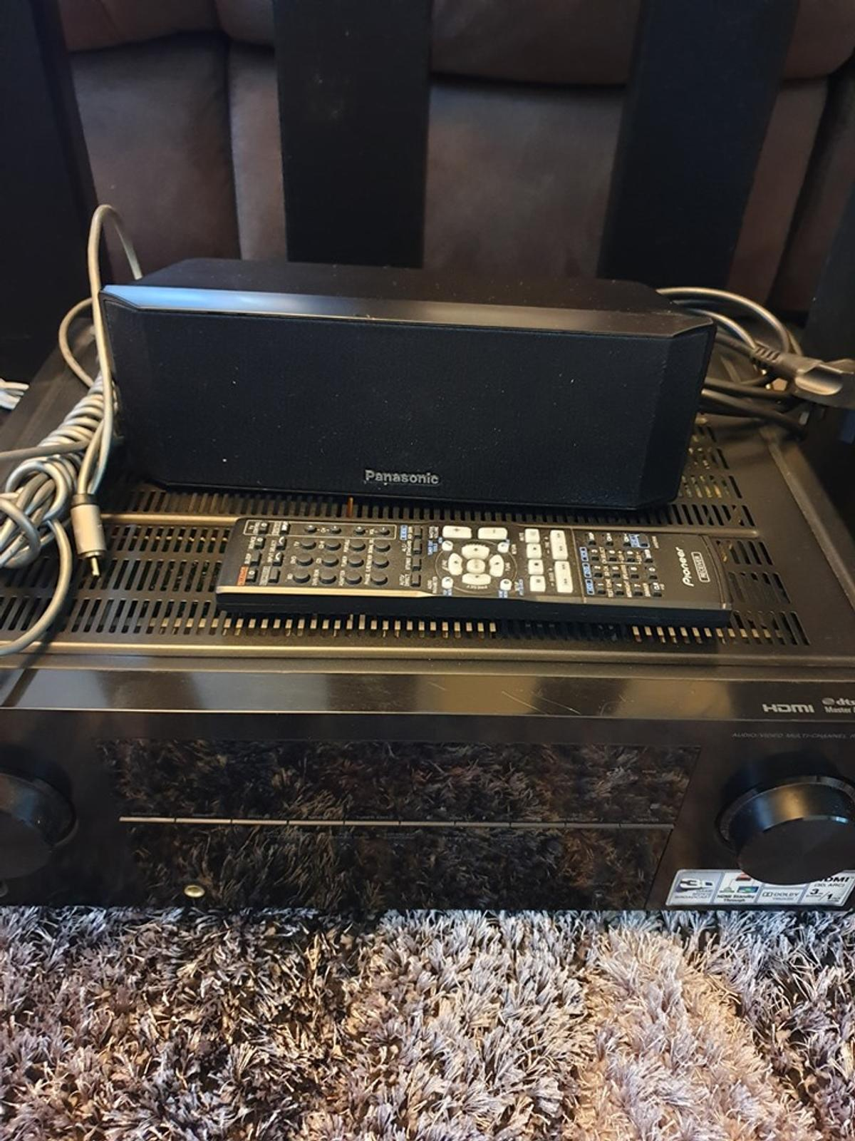 Pioneer VSX-421 5 1 Amp with Speakers in IP5 Suffolk for