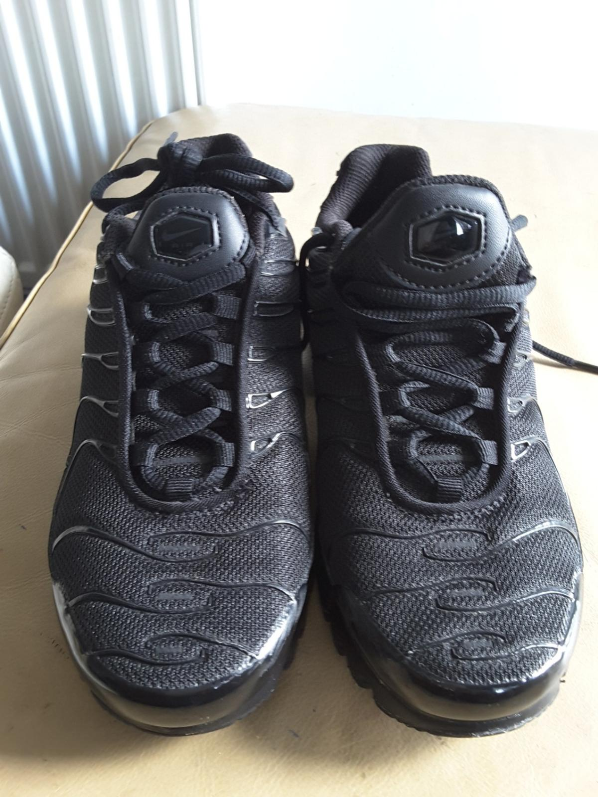 wholesale dealer a99bf 1e52f WOMENS NIKE AIR MAX TN BLACK TRAINERS UK 4.5 in SW9 London ...