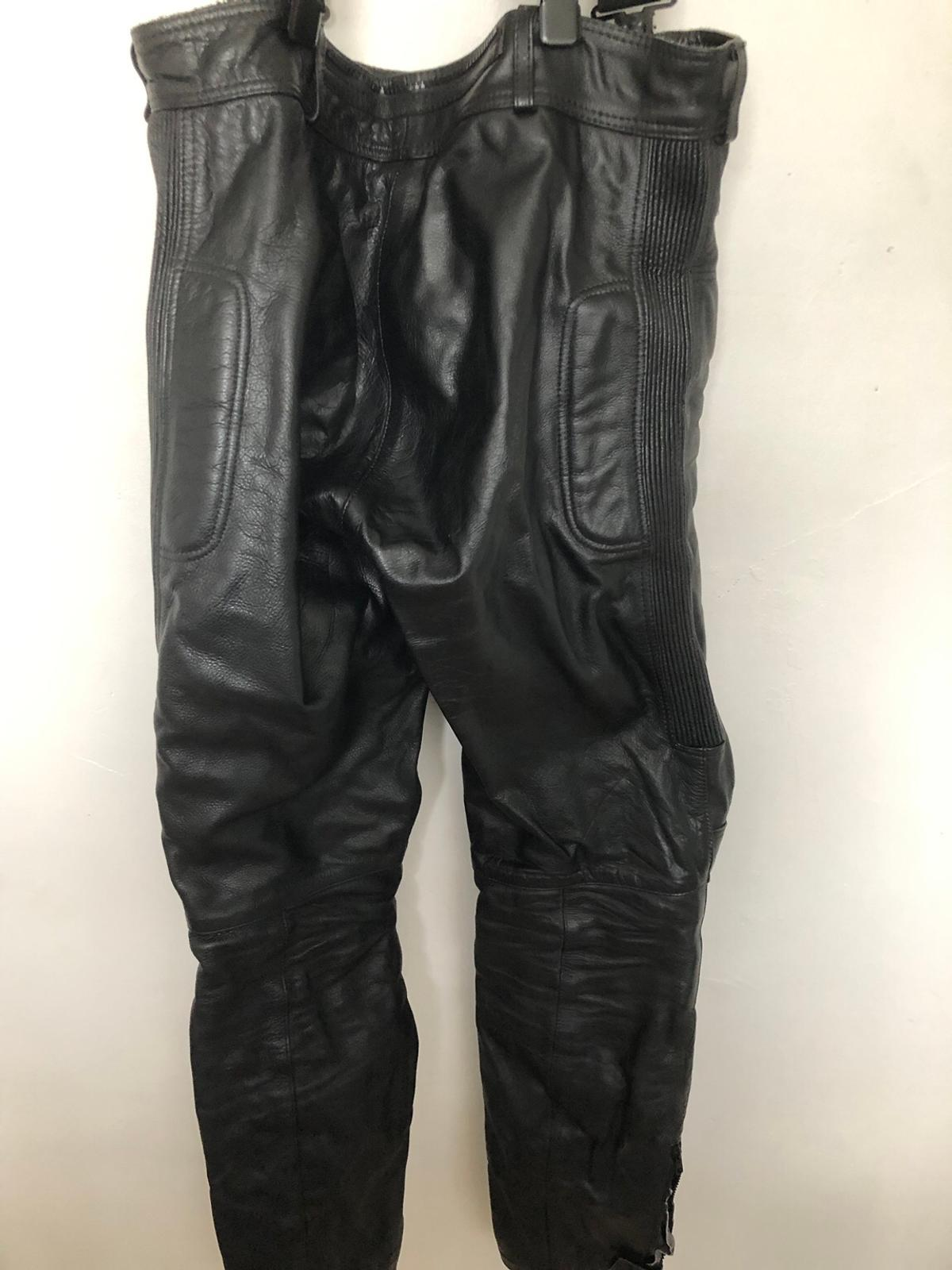 Huge Size Range Texpeed Mens Leather Motorcycle Touring Jeans//Trousers With Armour