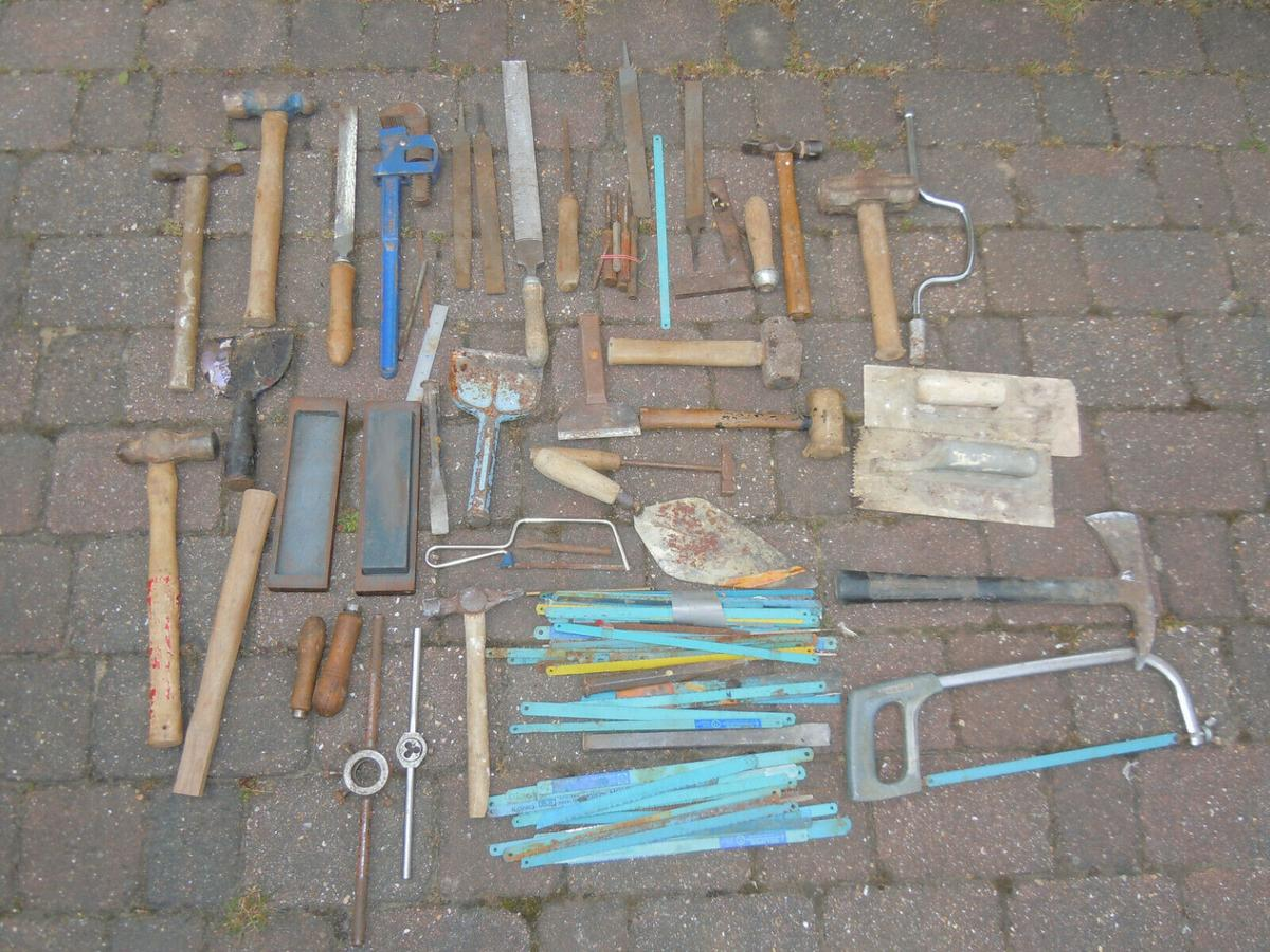 JOB LOT SELECTION HAND TOOLS SAWS FILES in ME5 Chatham for