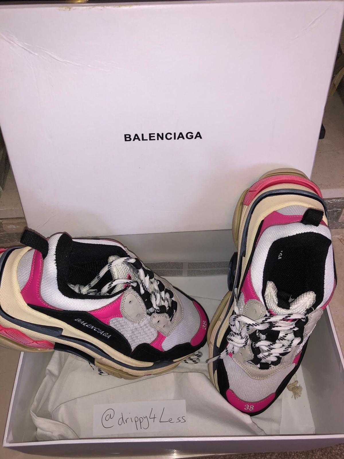 Black Friday Vente Soldes Chaussures Balenciaga Triple S