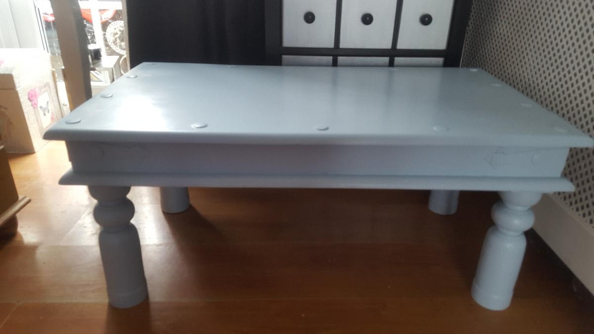 Shabby Looking Chunky Wood Coffee Table In Sunnybrow For 25 00 For Sale Shpock