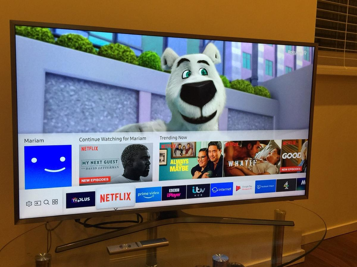 Smart TV with remote