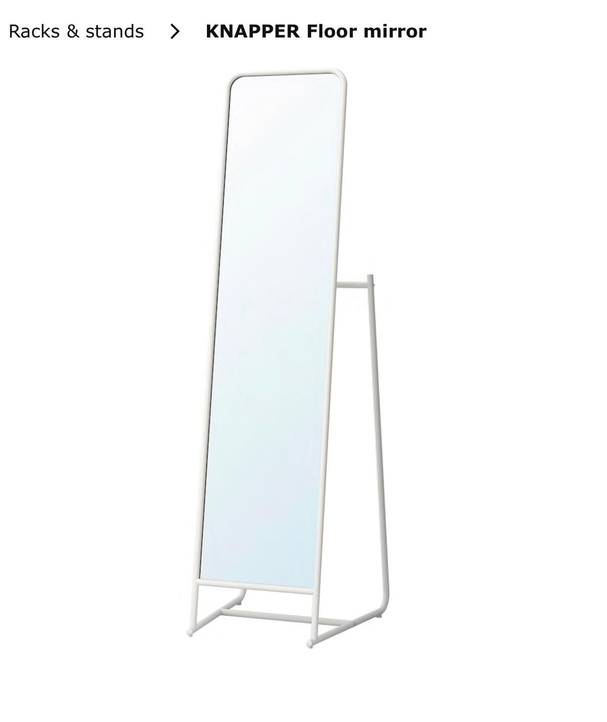 Ikea Floor Mirror With Hooks In Sw13 Thames For 20 00 For Sale Shpock