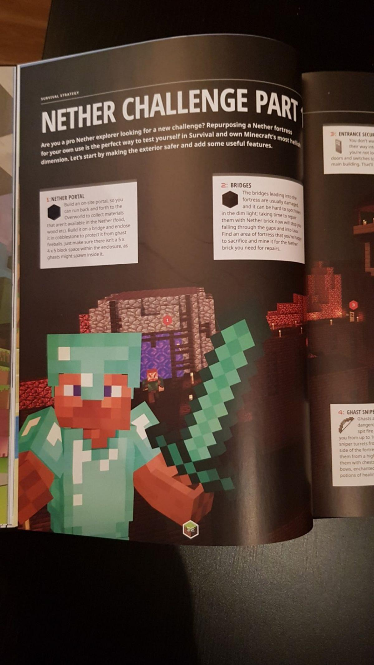 Minecraft Annual 2017 in WV13 Walsall for £1 00 for sale