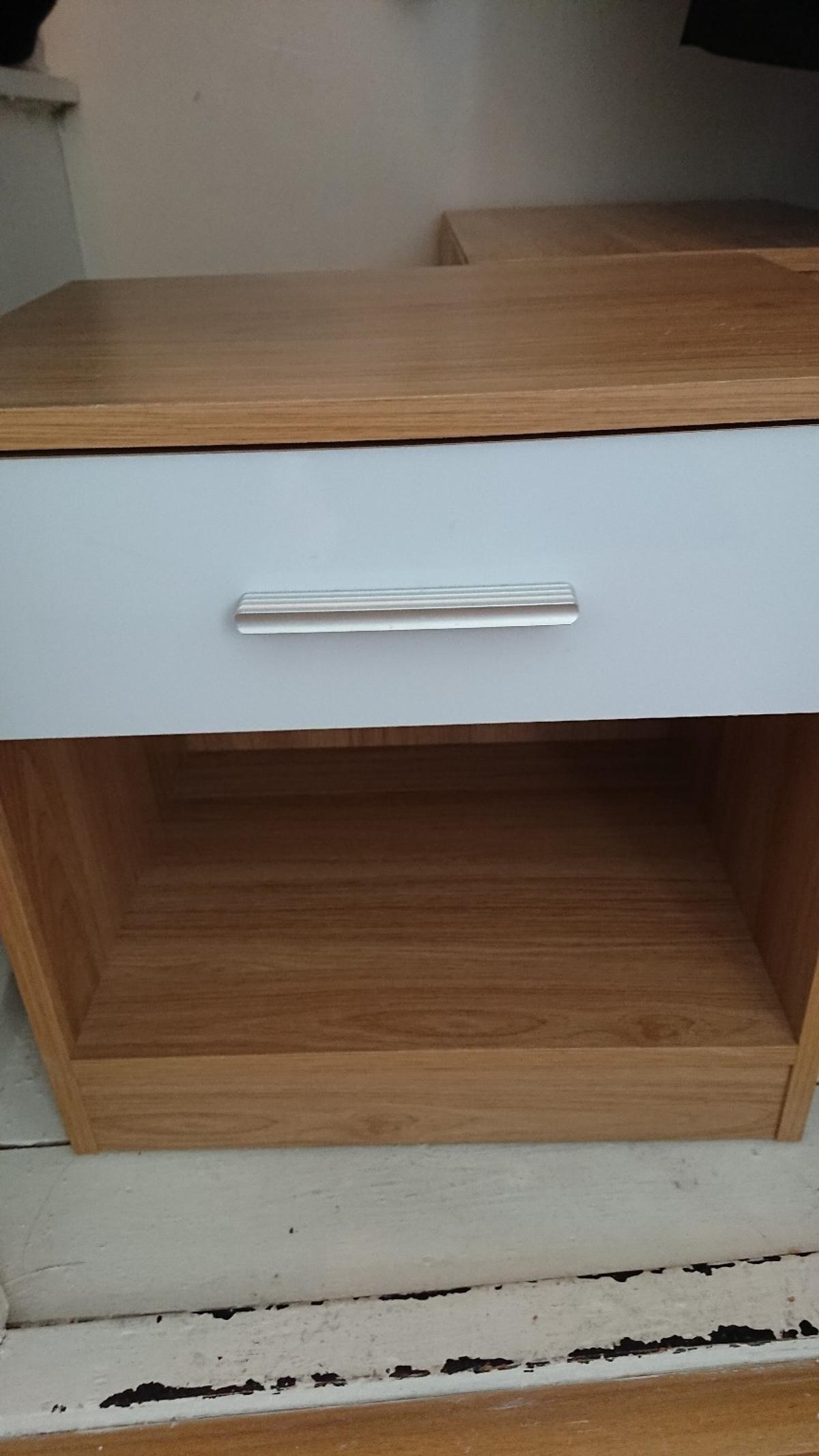 sports shoes 63d11 bb438 2 x bedside tables