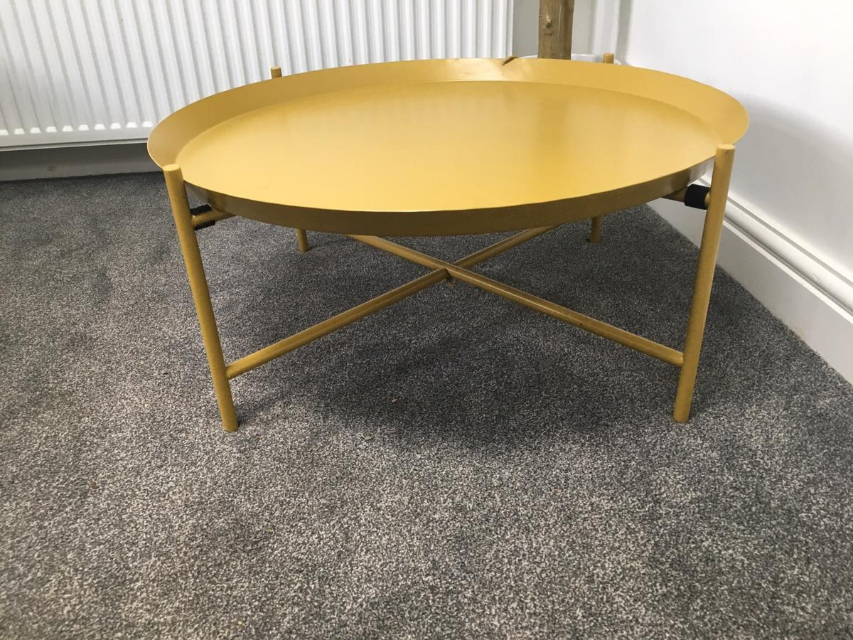 Ikea Retro Mustard Coffee Table In Ch63 Wirral For 25 00 For Sale Shpock
