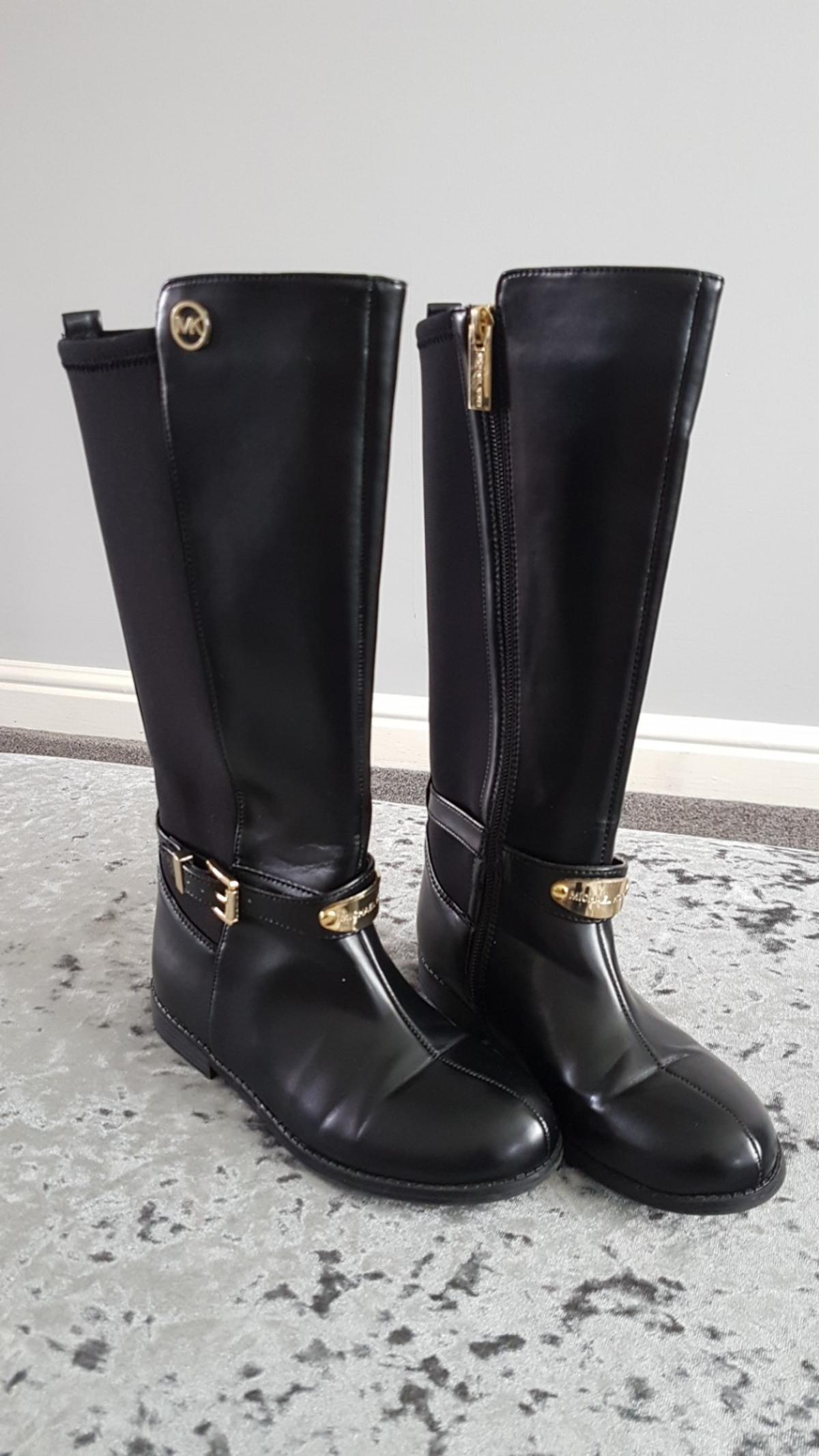 pre order factory outlet world-wide selection of Michael Kors riding boots size 12.5