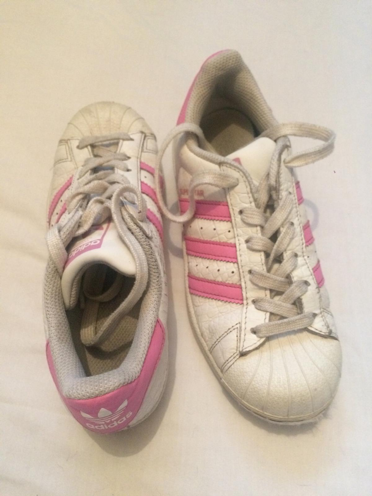 uk availability 0bb04 72753 Adidas superstar vintage trainers size 3