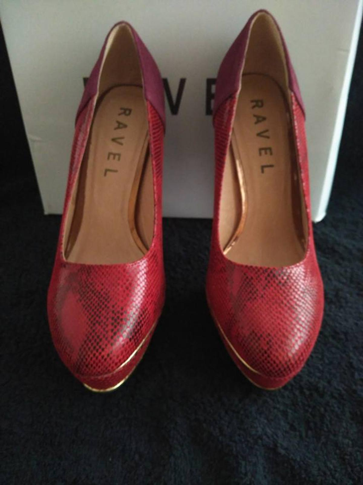 a76678e571e NEW ladies Revel Red Snake Print shoes in B28 Birmingham for £25.00 ...