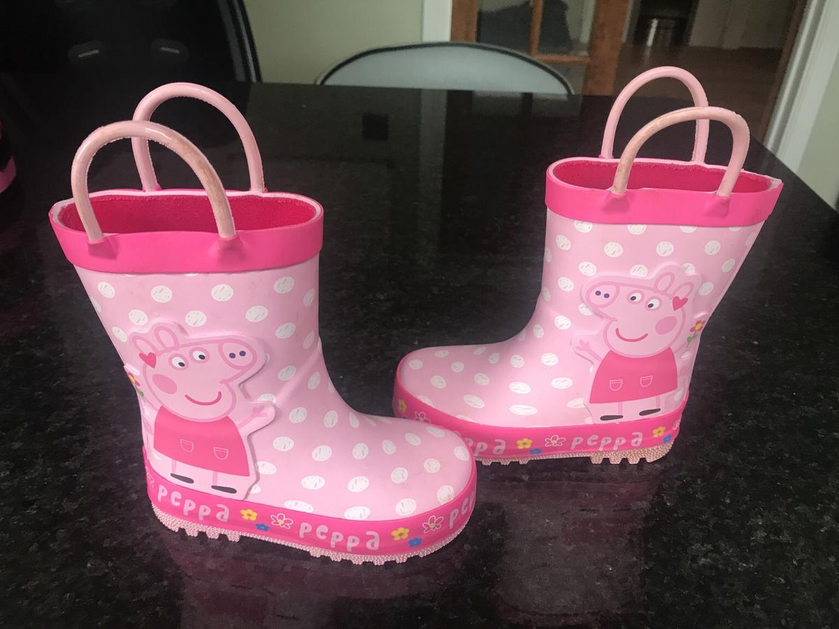 BRAND NEW MOTHER CARE PEPPA PIG WELLIES//BOOTS IN DIFFERENT SIZES