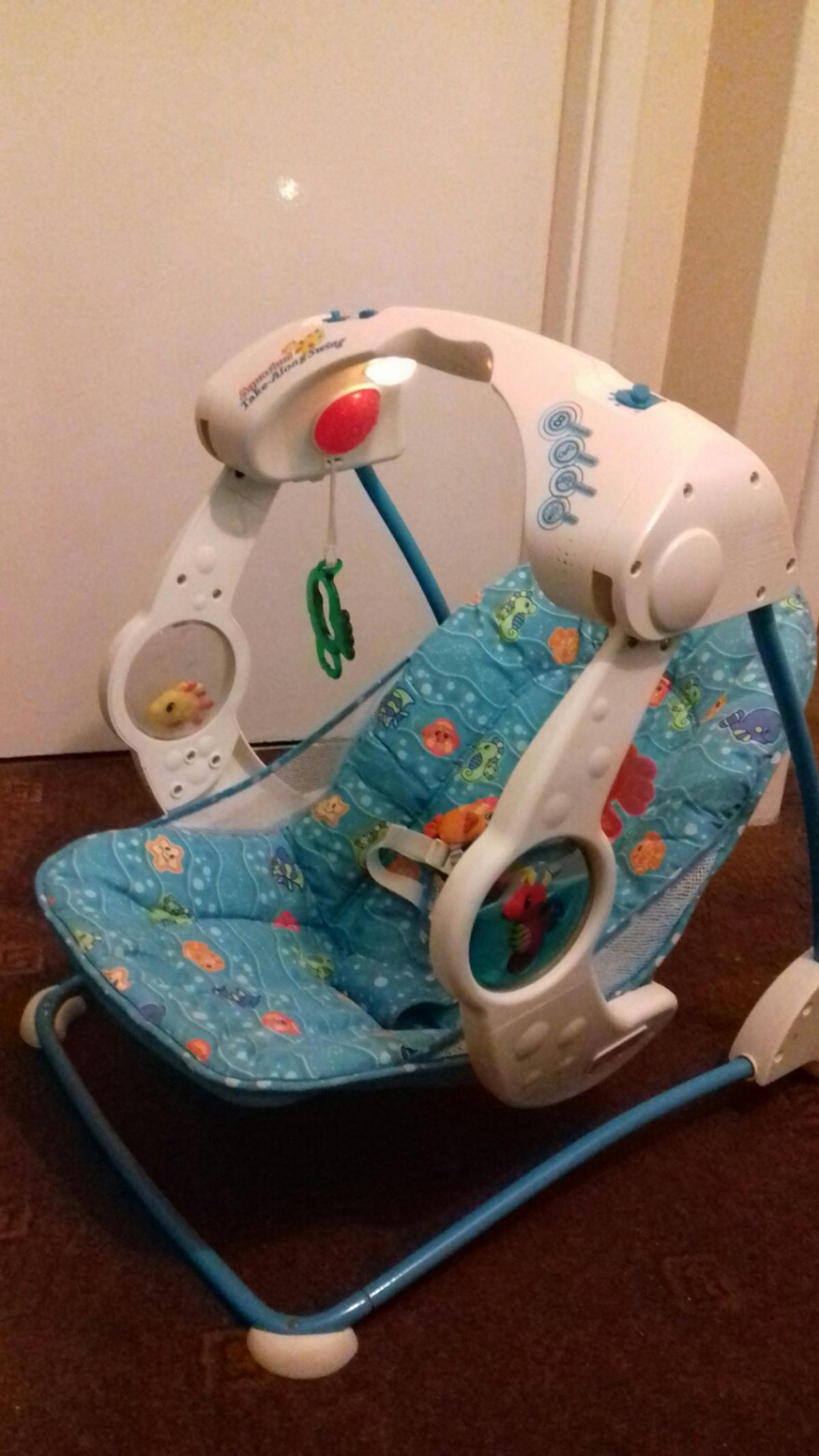 Fisher Price Baby Swing In Dy2 Dudley