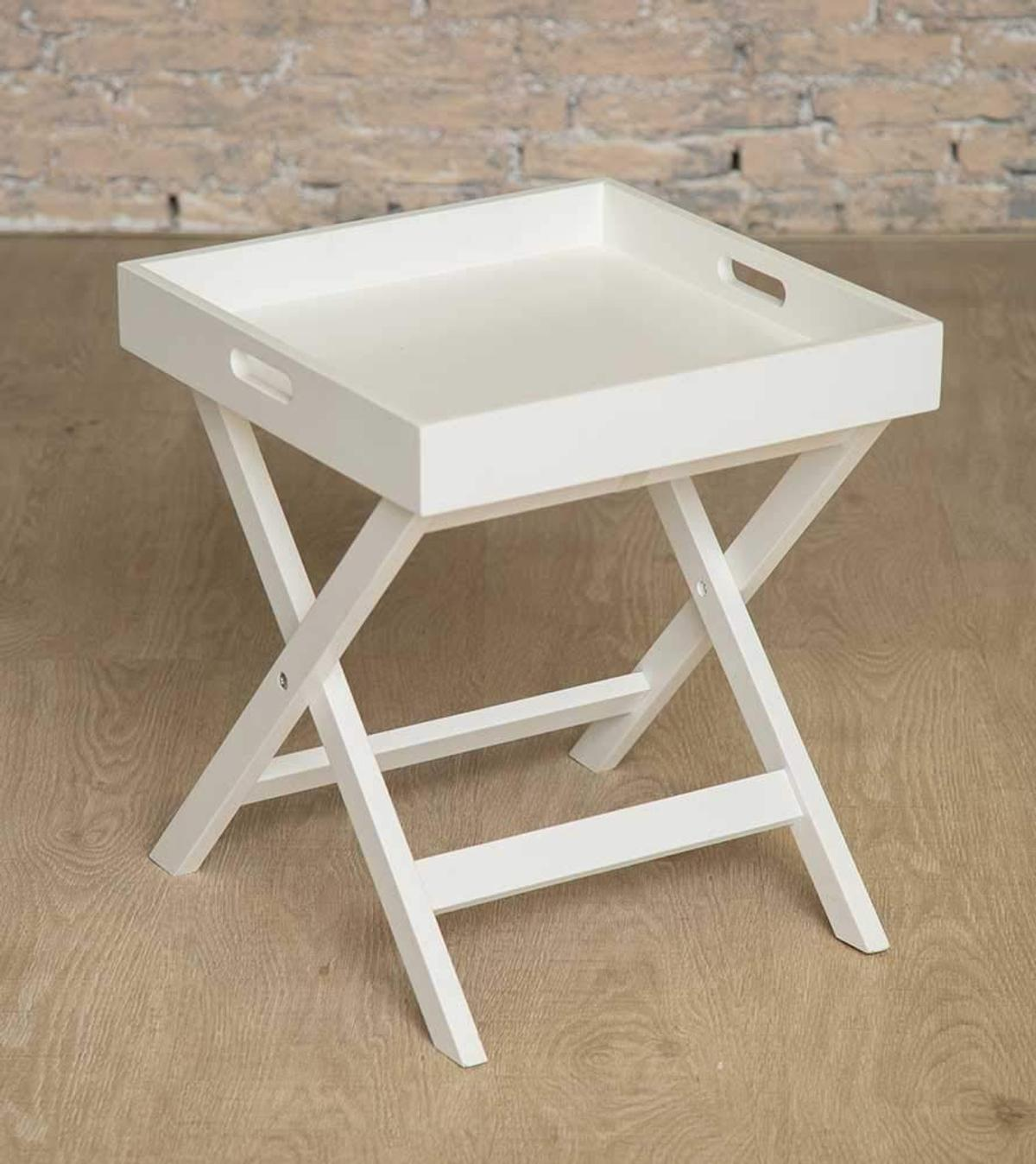 - Sue Ryder Butlers Wooden Console Tray Table In E14 Hamlets Für 5