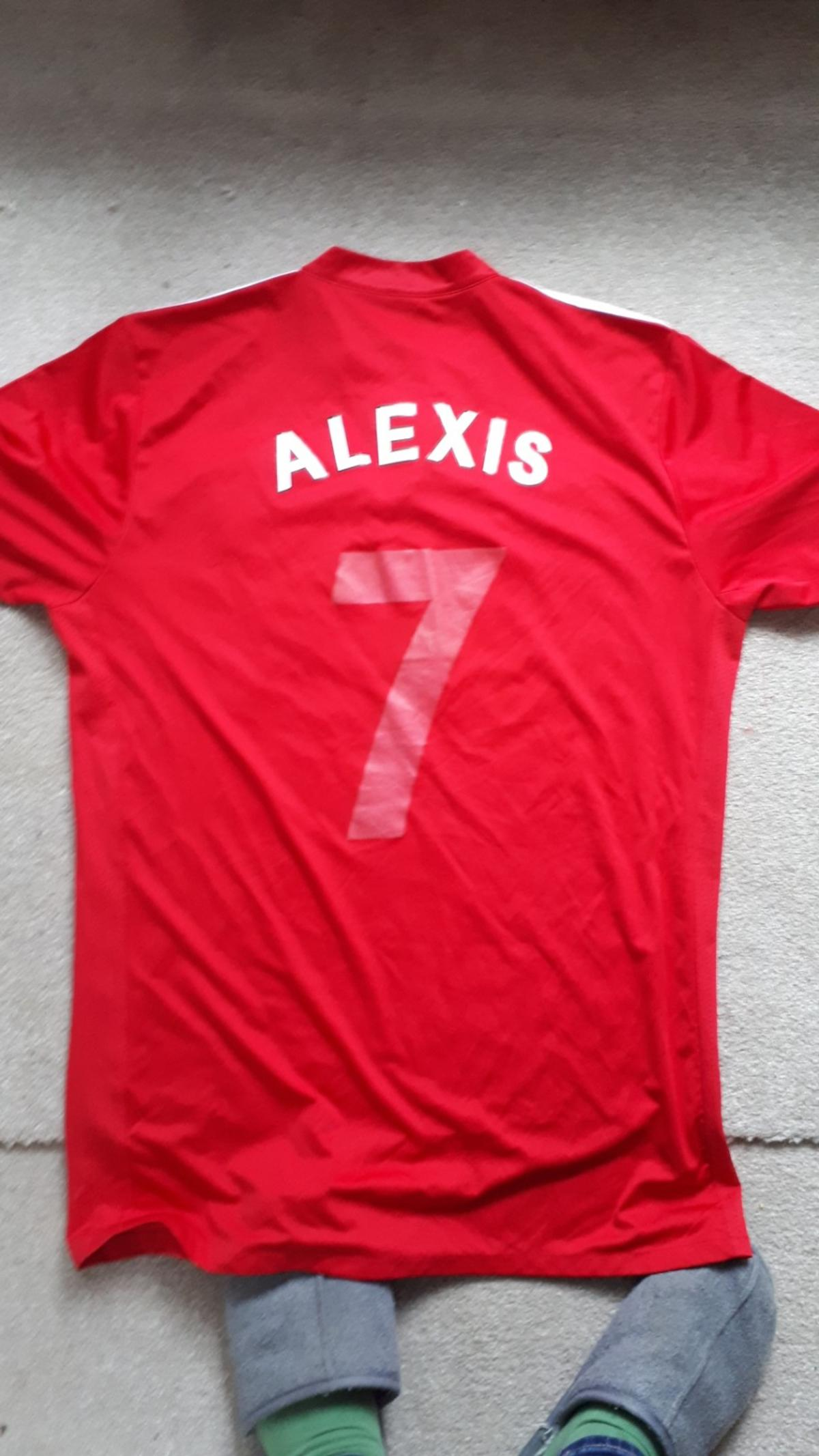 sports shoes e5be4 2bb62 Adidas Manchester United Alexis shirt