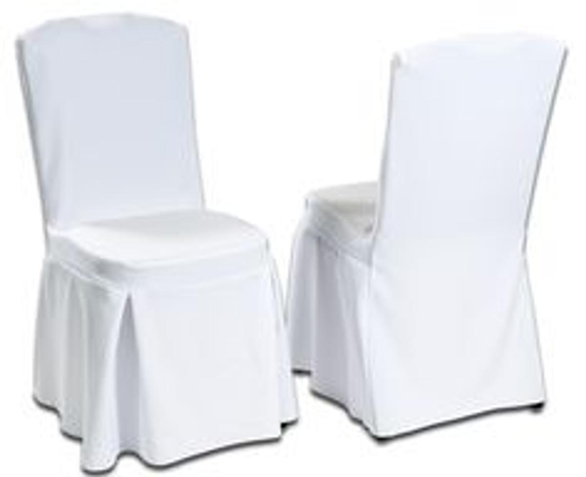Fantastic 105 White Cotton Pleated Wedding Chair Covers In North West Machost Co Dining Chair Design Ideas Machostcouk
