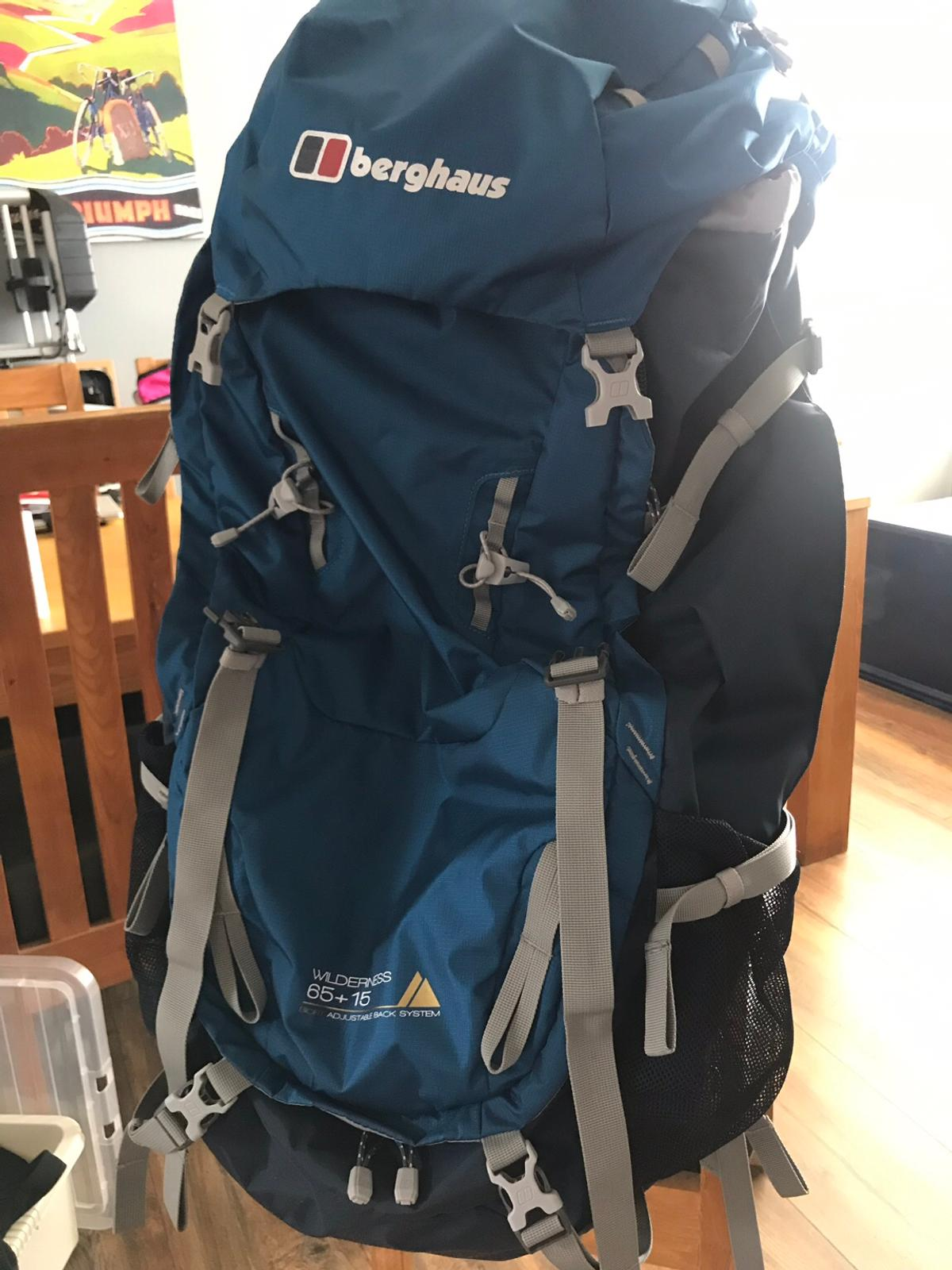more photos hot product top brands Berghaus Wilderness 65+15 expedition rucksack
