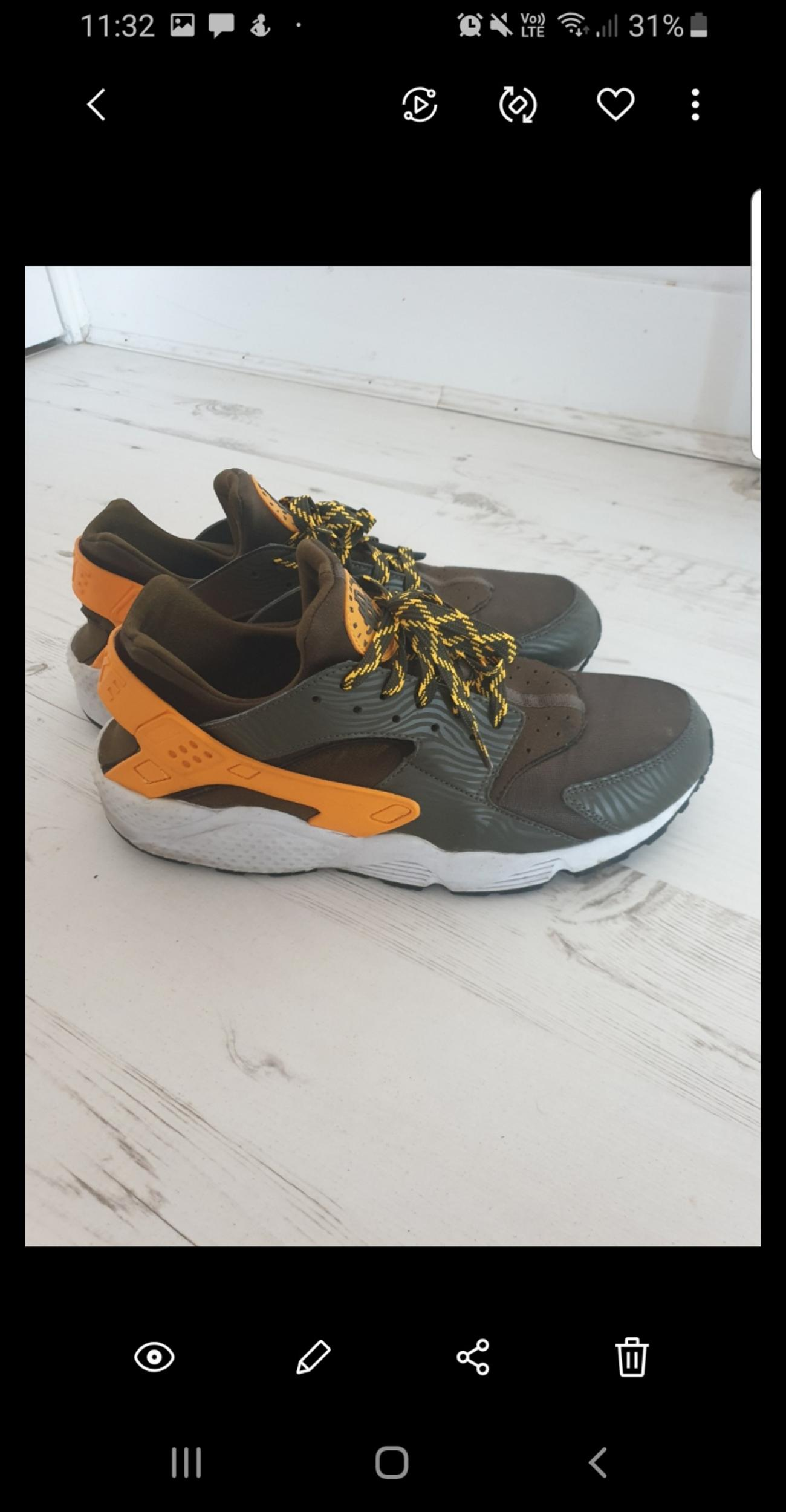 the best attitude 85f61 fcd98 Nike Huaraches Size 11