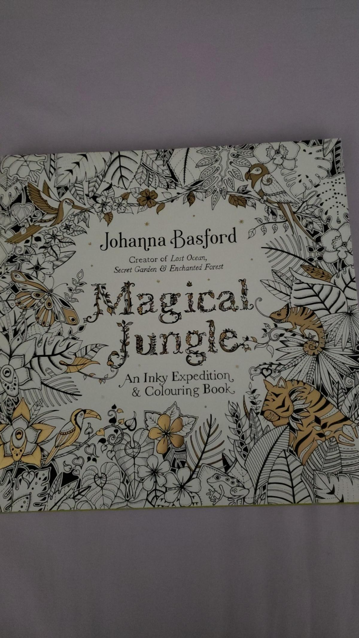 4 Johanna Basford adult colouring books in SE8 Lewisham für ...