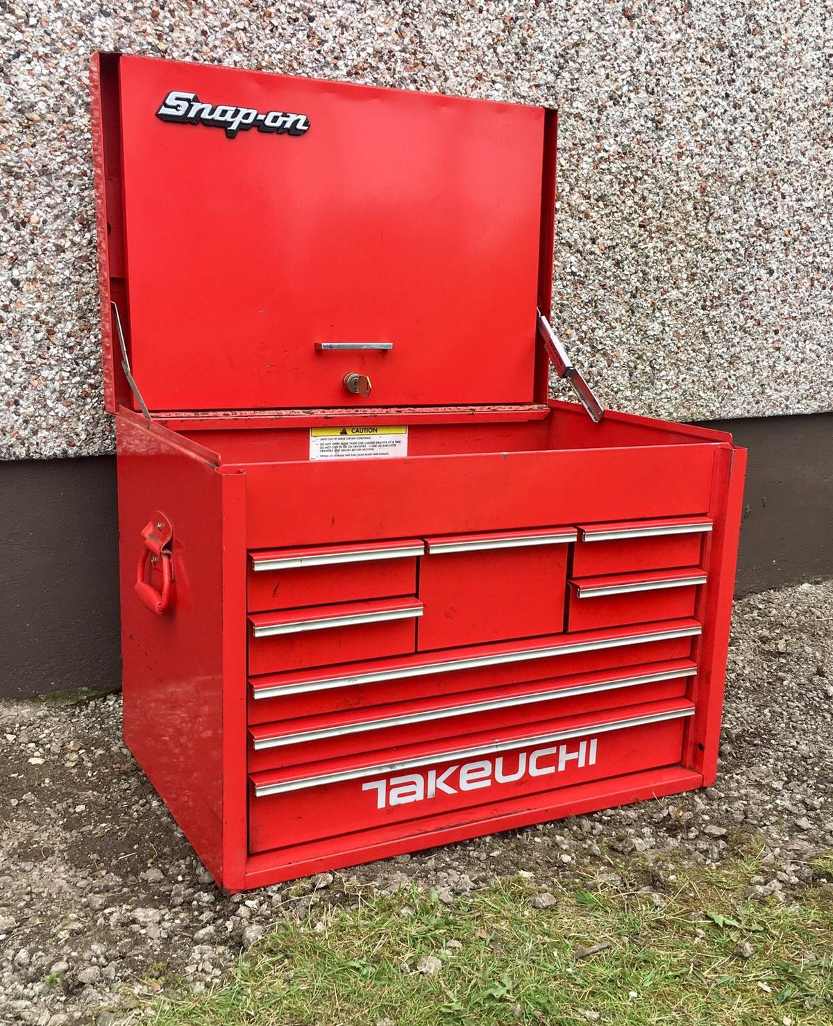 Snap On Tool Box Tool Chest Top Box