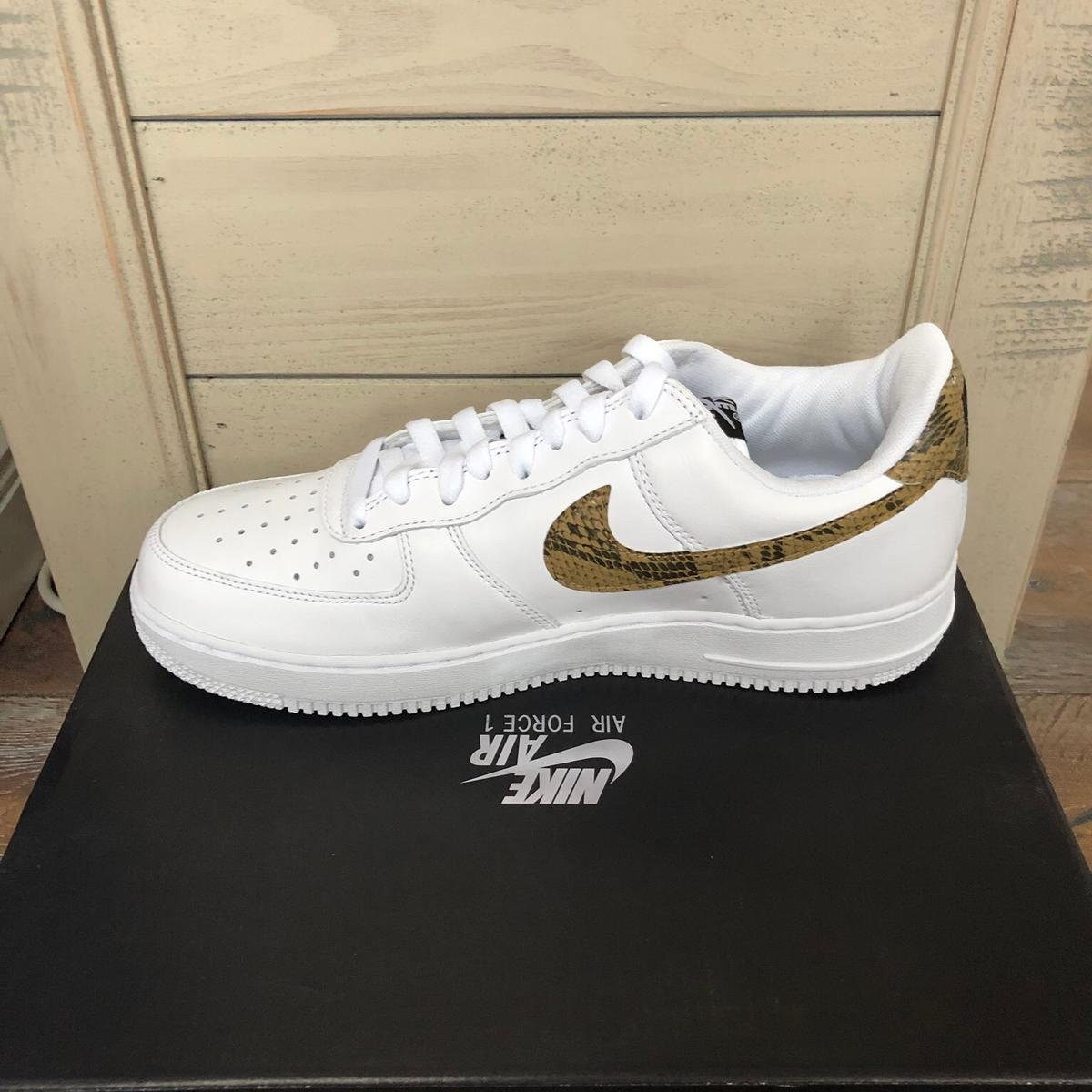 Nike 1 Force •ivory Snake Air 8OwXPn0k