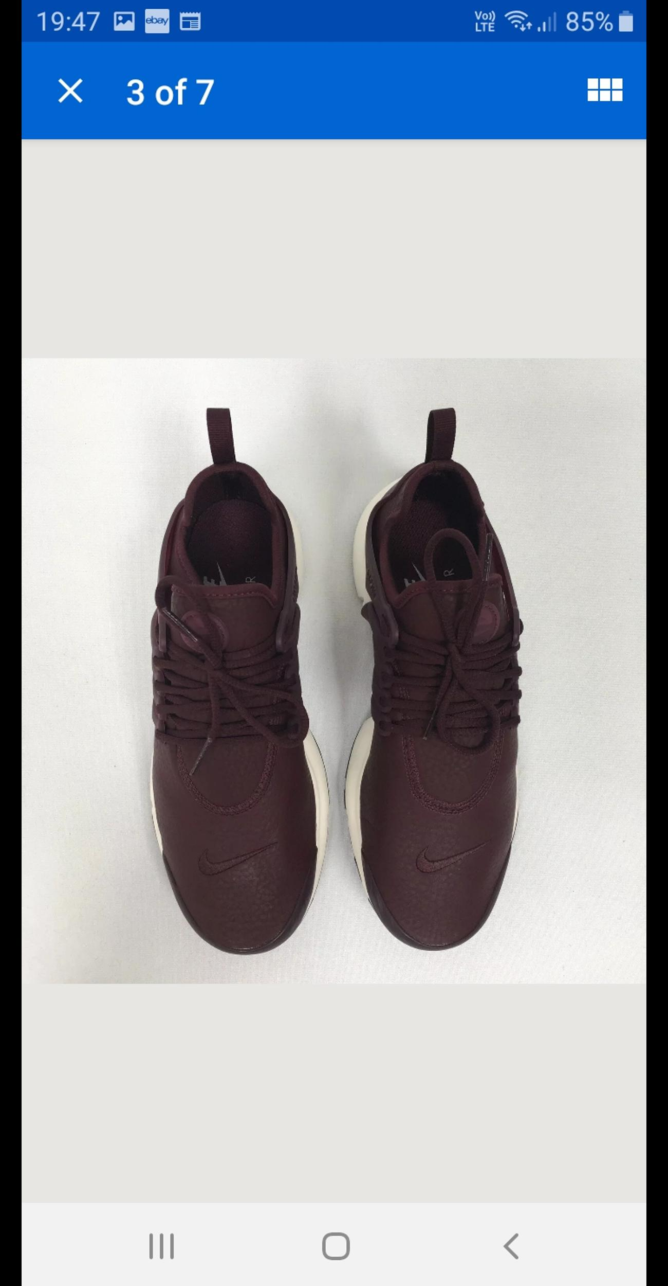 classic genuine shoes exclusive deals Nike air presto leather trainers 7.5 new in NW2 Barnet für ...