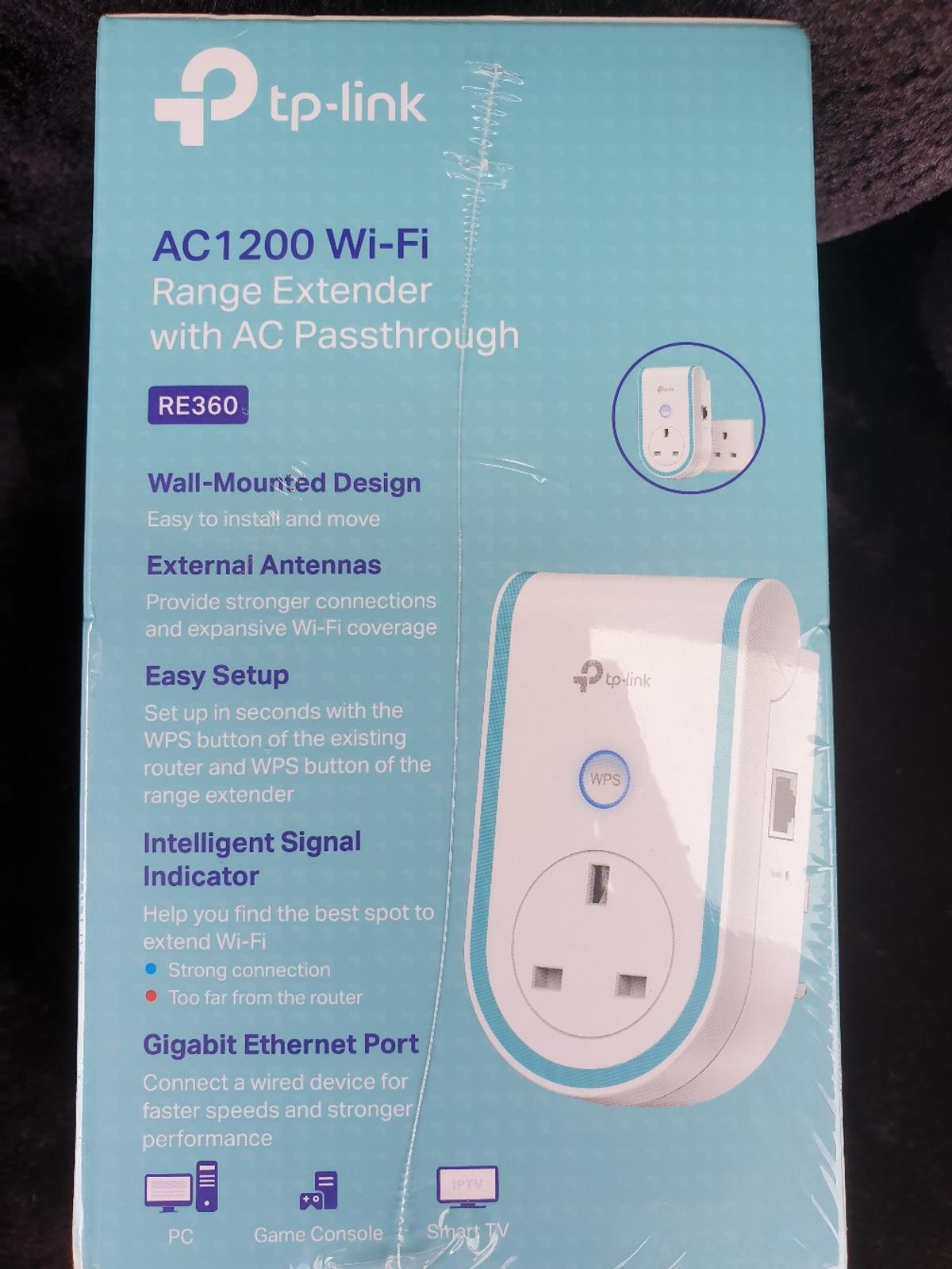 Dual Band Range Wifi Extender in MK8 Wolverton for £34 00 for sale